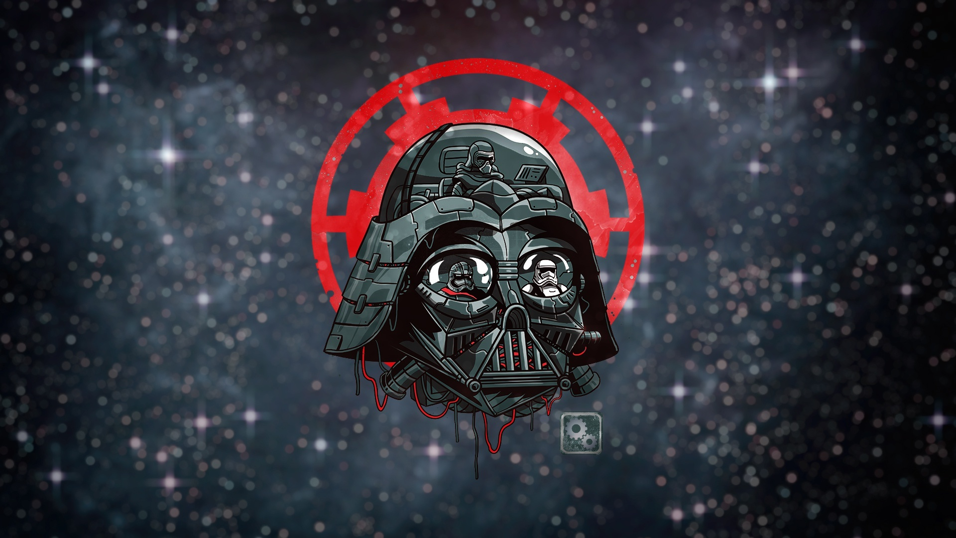 1920x1080 Artwork Darth Vader From Star Wars 1080p Laptop Full Hd