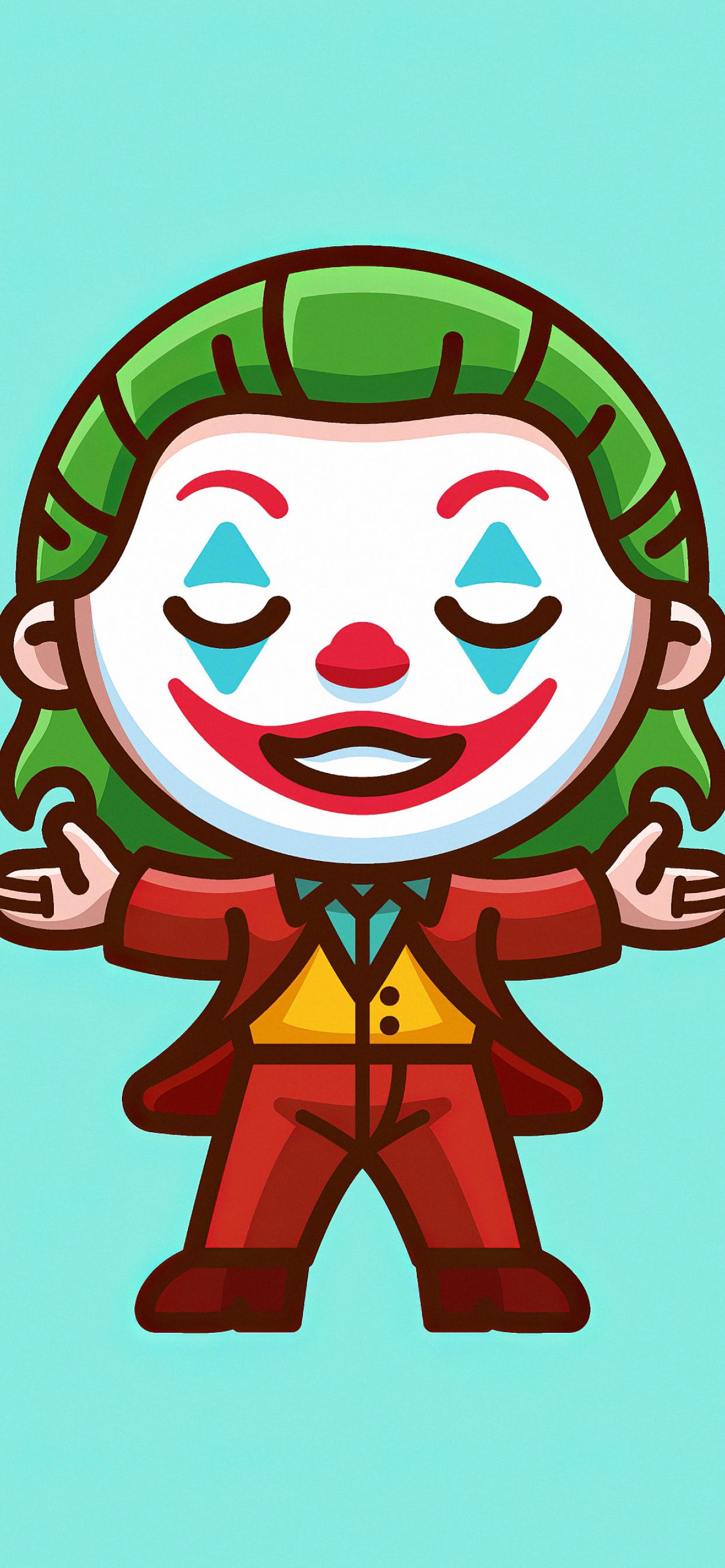 1242x2688 Artwork Joker 2020 Iphone XS MAX Wallpaper HD