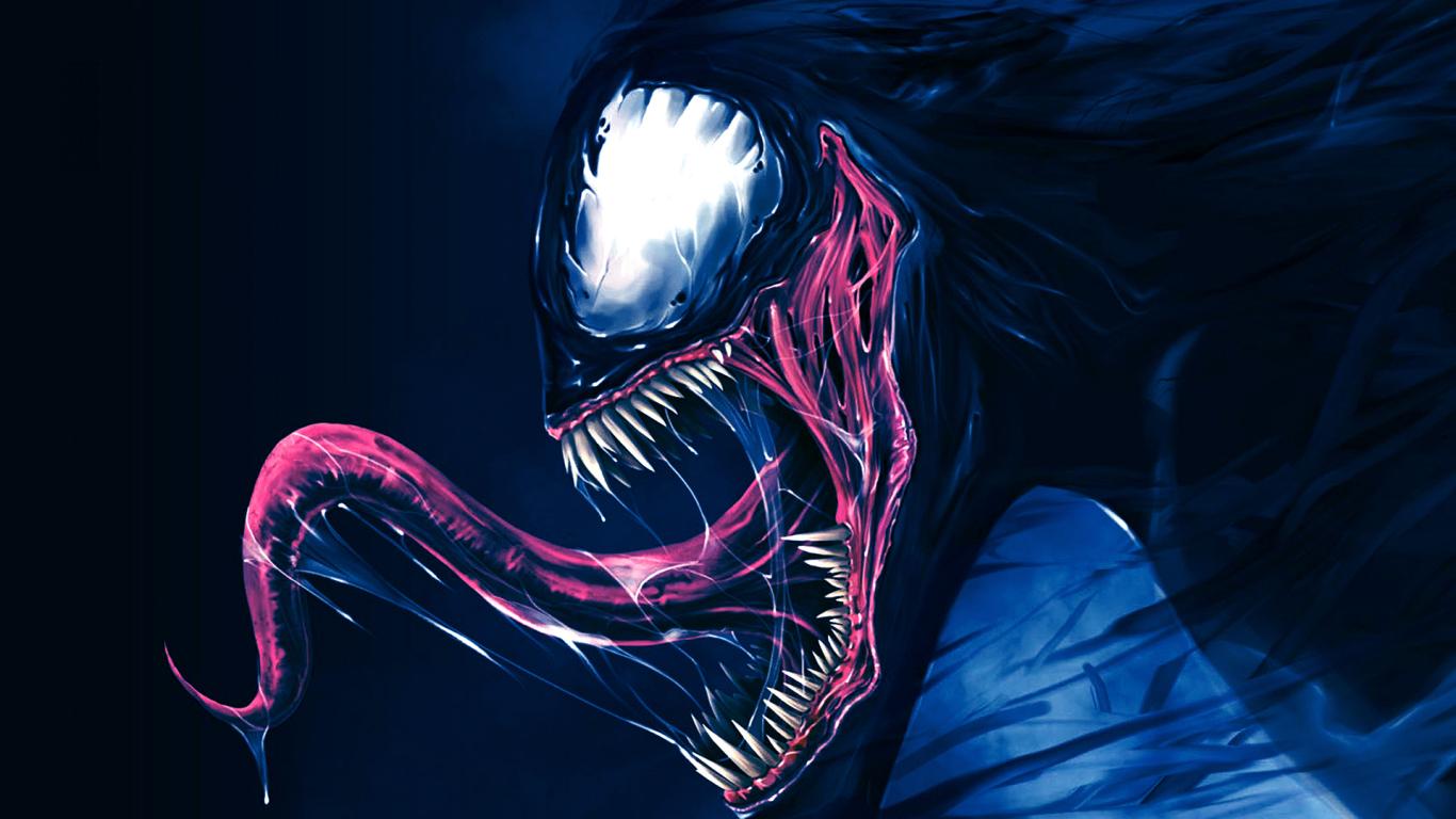 1366x768 Artwork Venom 1366x768 Resolution Wallpaper, HD ...