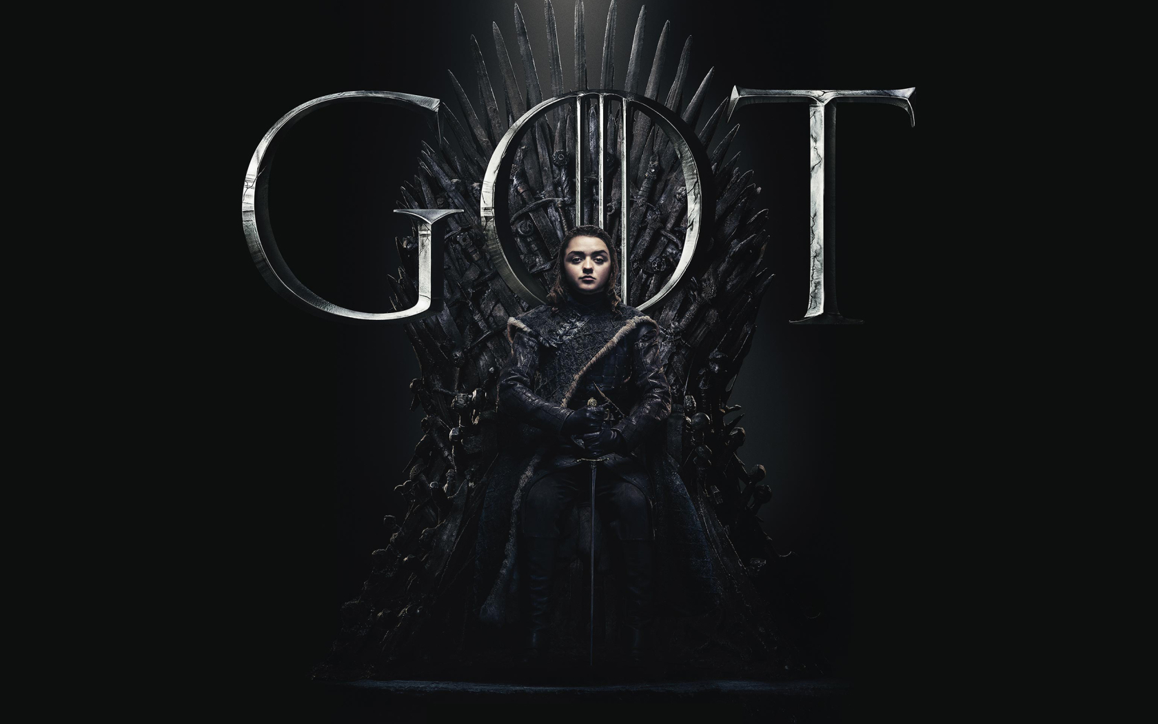 1680x1050 Arya Stark Game Of Thrones Season 8 Poster 1680x1050