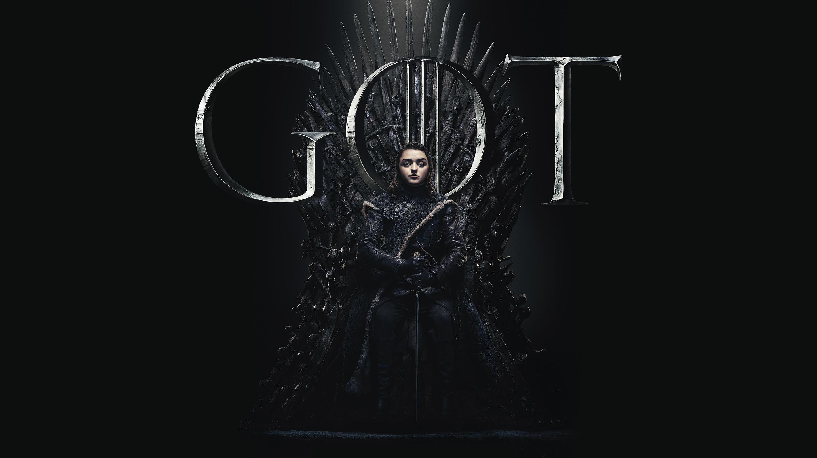 Arya Stark Game Of Thrones Season 8 Poster Wallpaper, HD ...