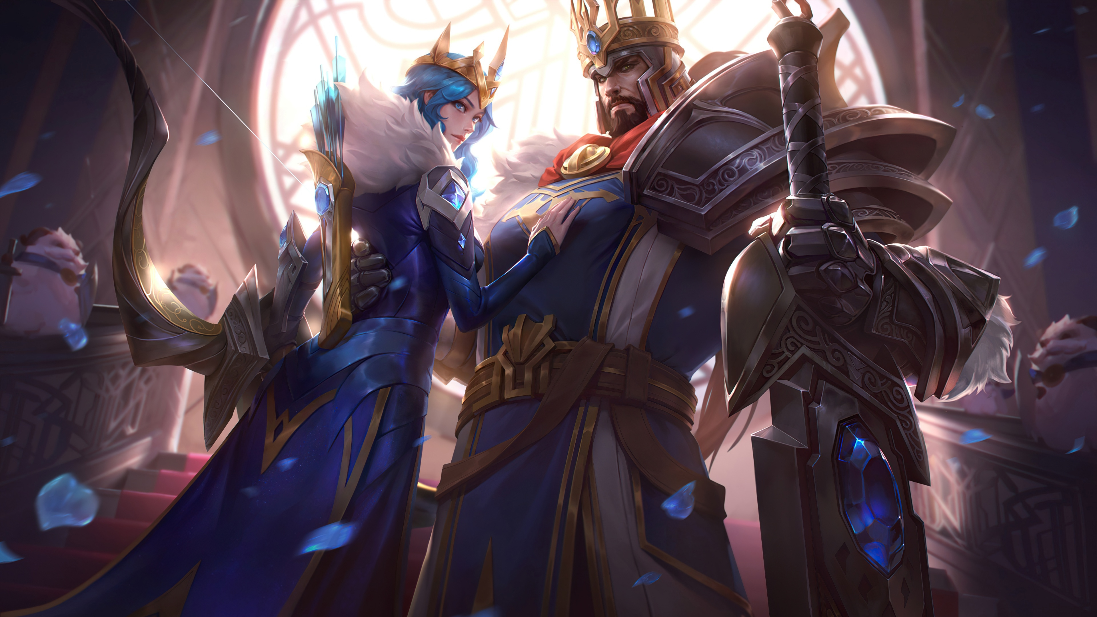 2560x1440 Ashe In League Of Legends 1440p Resolution Wallpaper Hd Games 4k Wallpapers Images Photos And Background