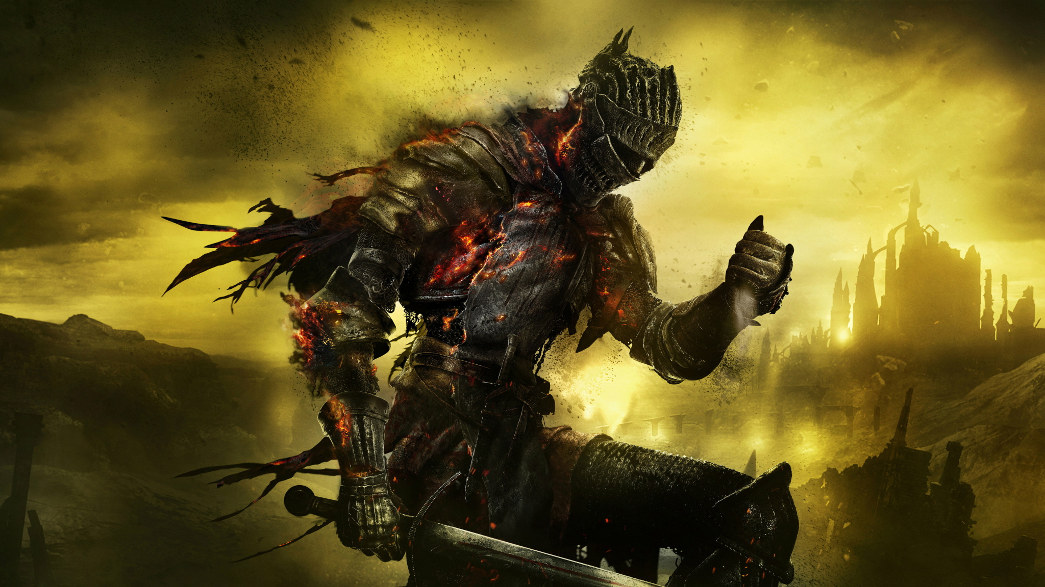 Ashen One Dark Souls 3, HD 4K Wallpaper