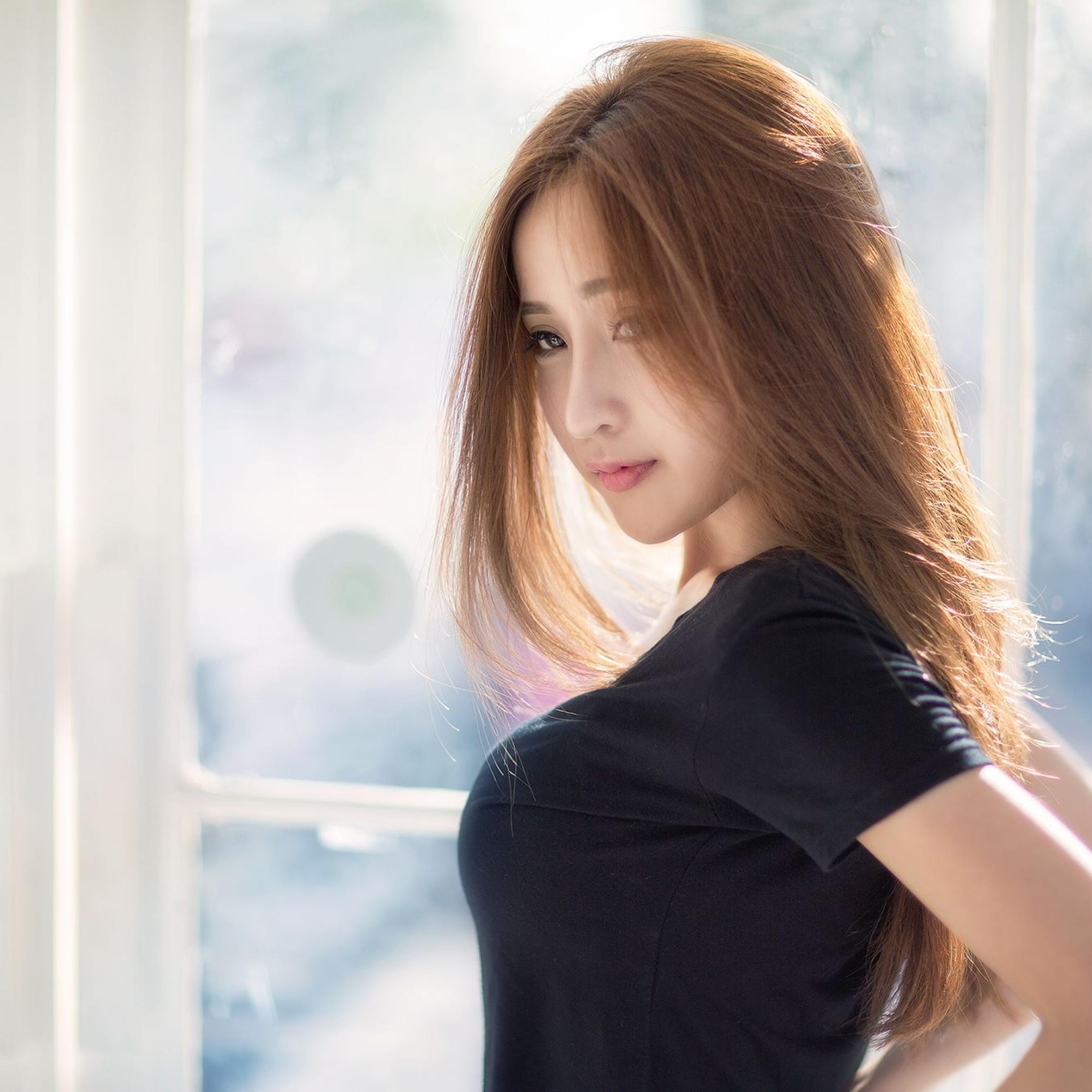 Asian Hot Girl, Full Hd 2K Wallpaper-6781