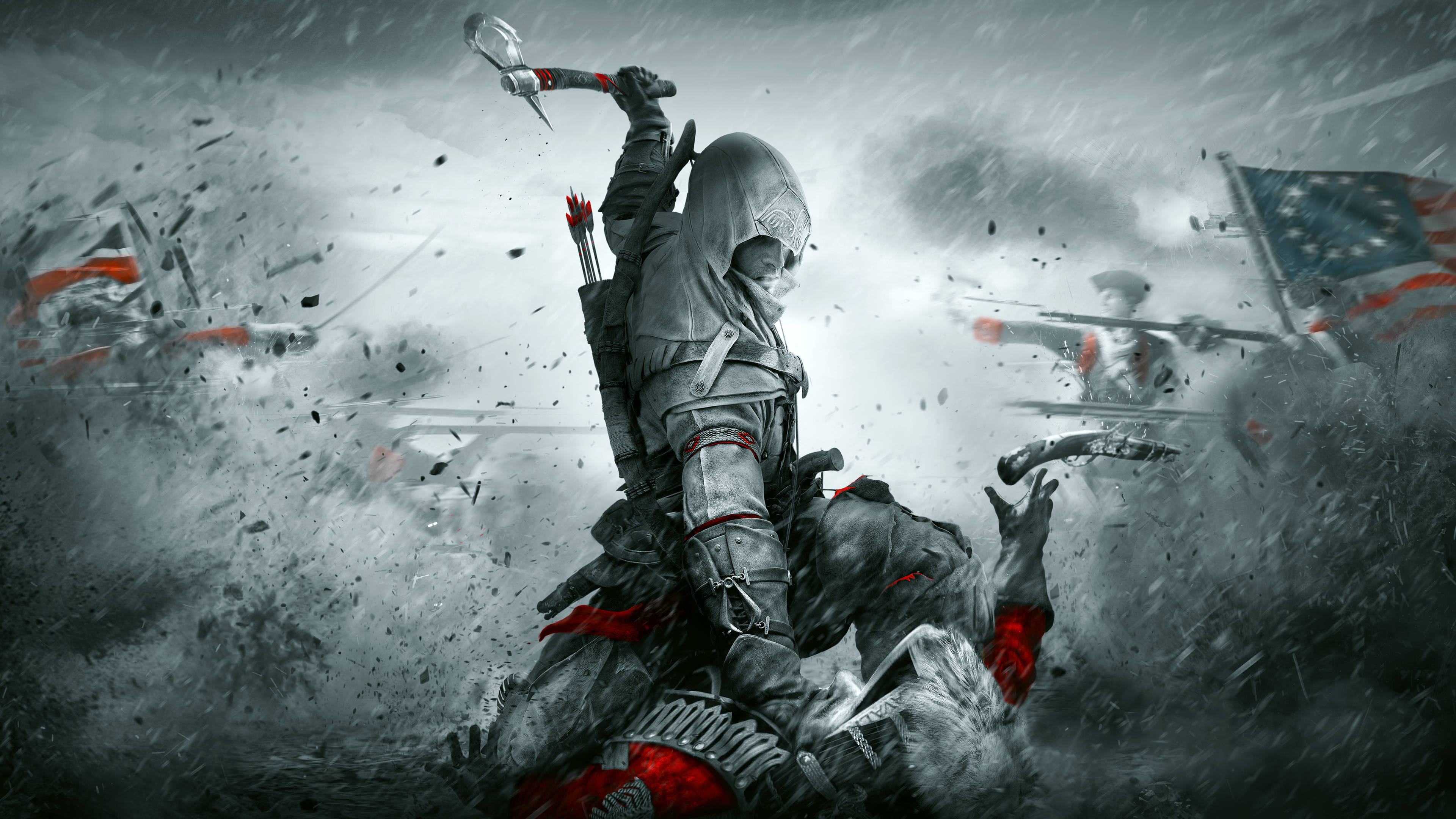 Assassin S Creed 3 4k Wallpaper Hd Games 4k Wallpapers Images