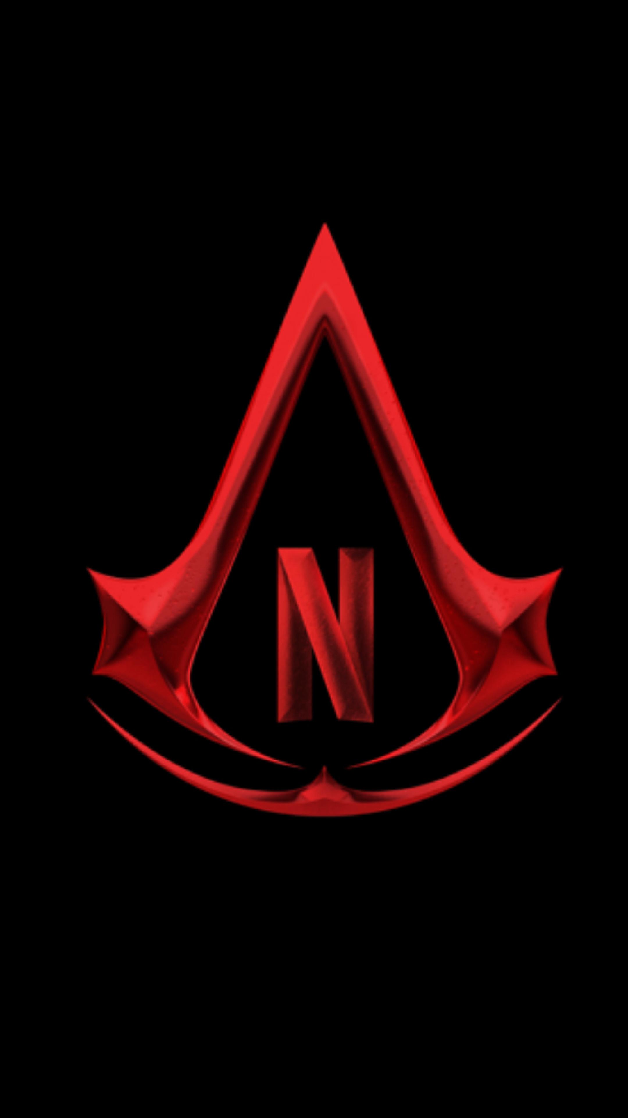 2160x3840 Assassin's Creed Netflix Show Logo Sony Xperia X ...