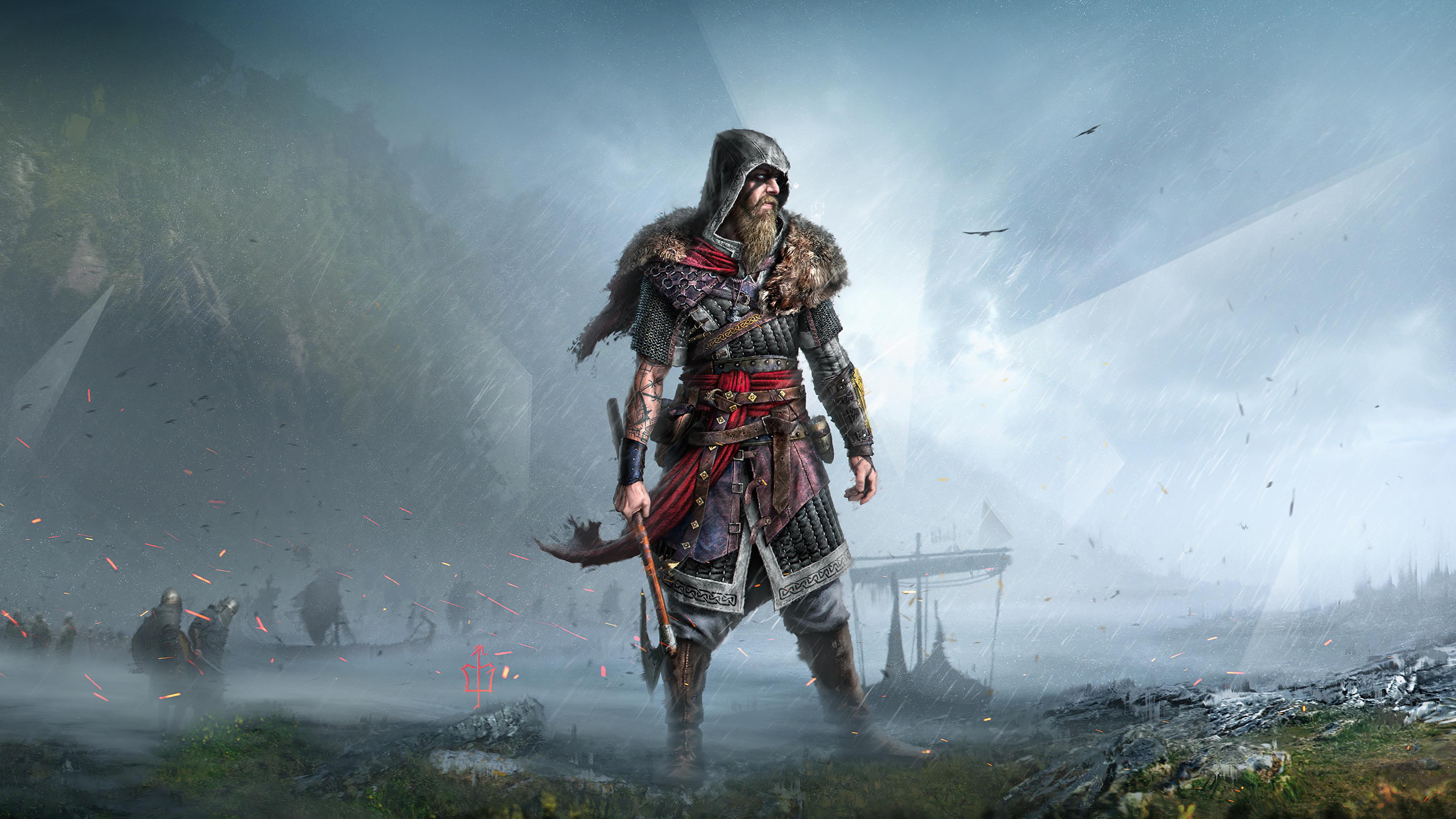 3840x2160 Assassin's Creed Valhalla 8K Viking 4K Wallpaper ...