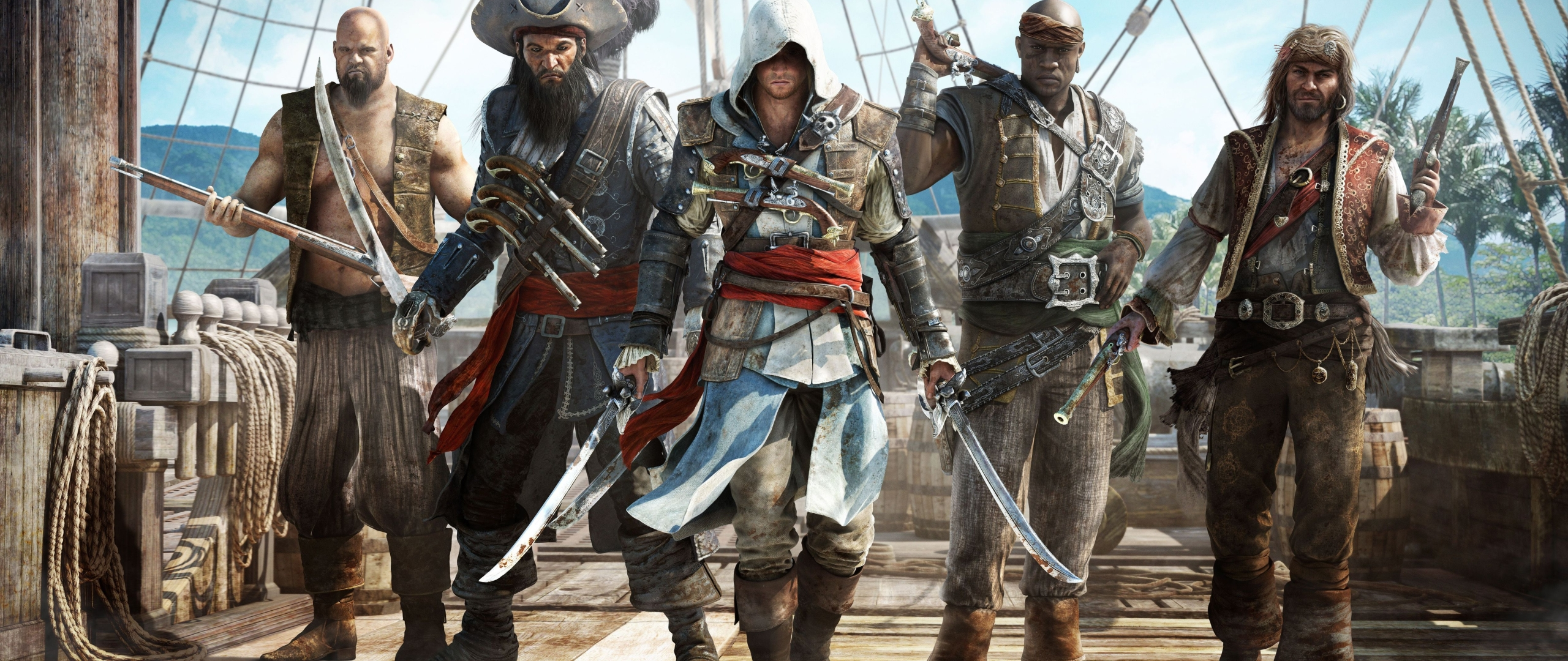 2560x1080 Assassins Creed Black Flag Pirates 2560x1080