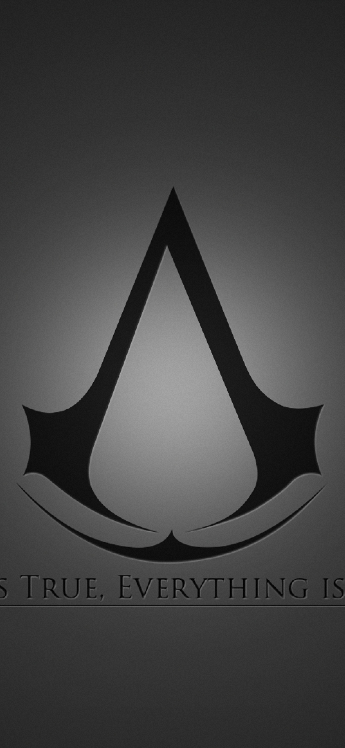 1125x2436 Assassins Creed Emblem Quote Iphone Xs Iphone 10 Iphone X Wallpaper Hd Games 4k Wallpapers Images