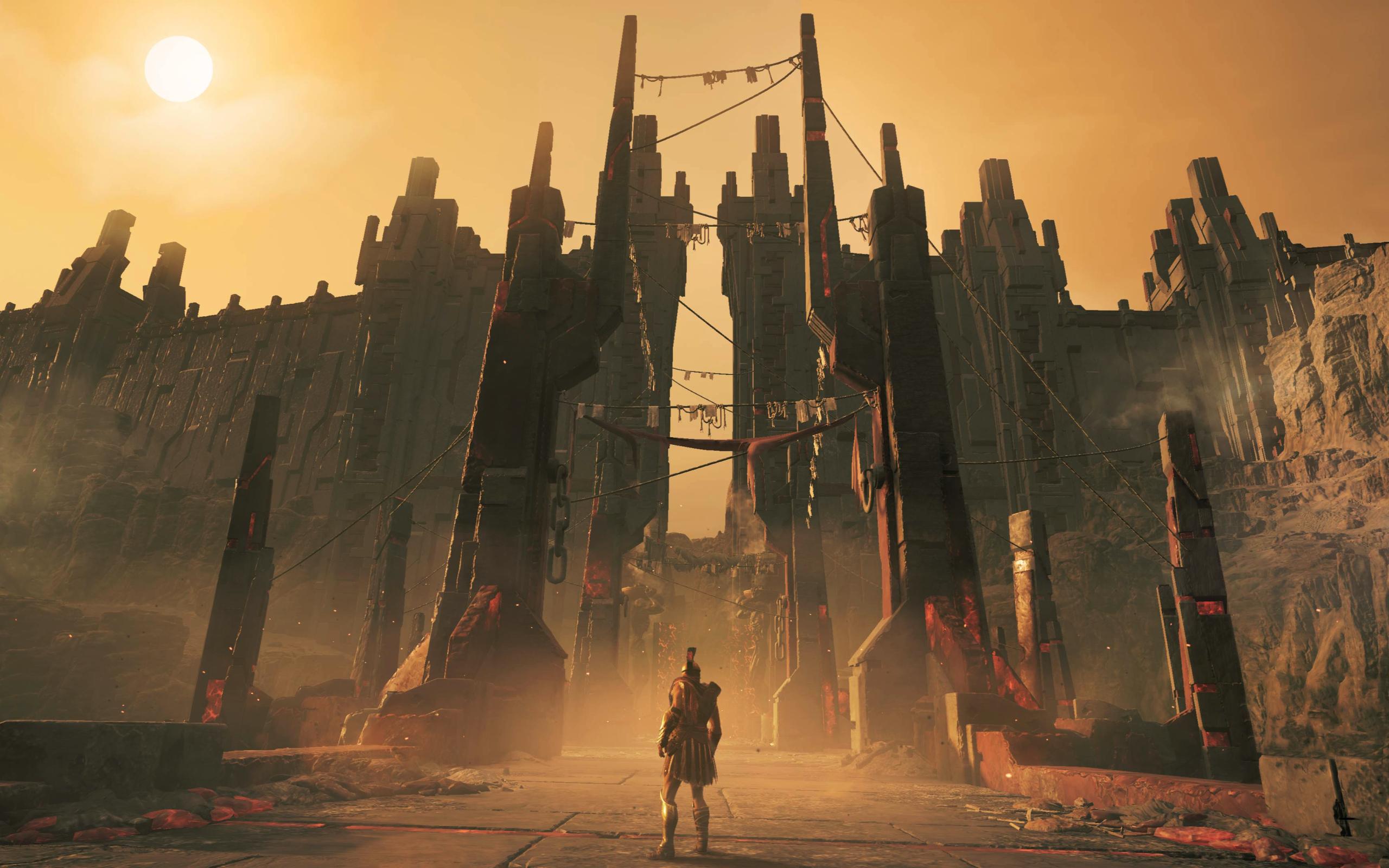 2560x1600 Assassins Creed Odyssey Fate Of Atlantis 4k 2560x1600