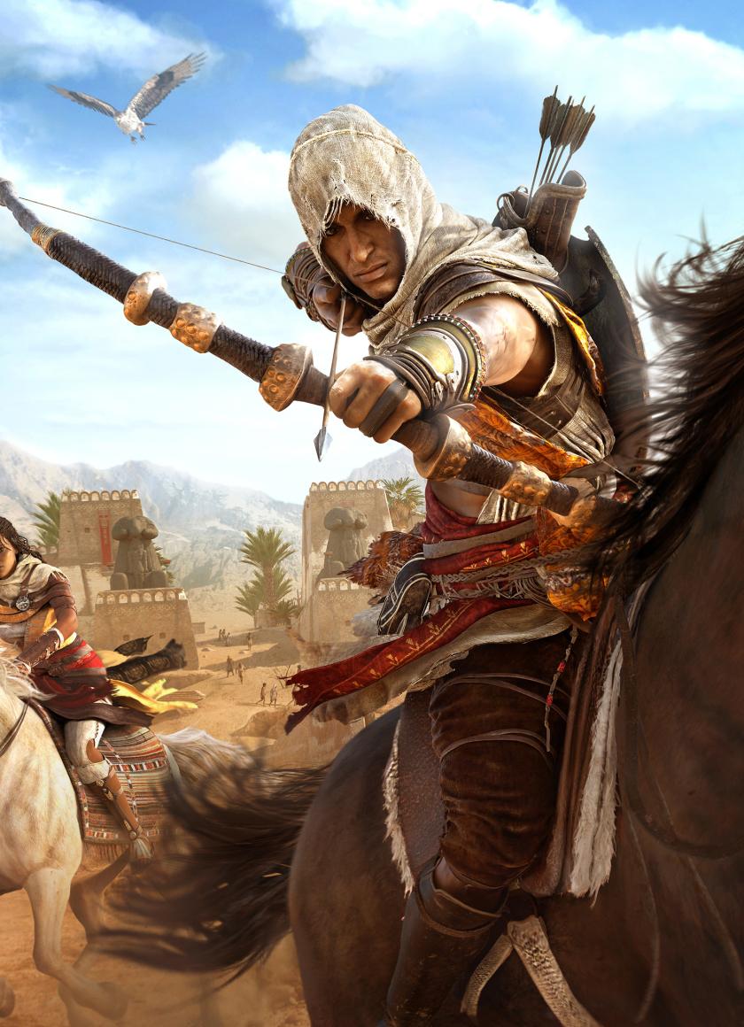 840x1160 Assassins Creed Origins Bayek And Aya 840x1160 Resolution