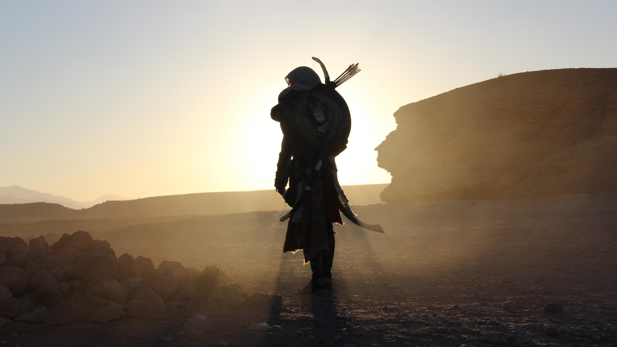 Download Assassins Creed Origins Game 2048x1152 Resolution