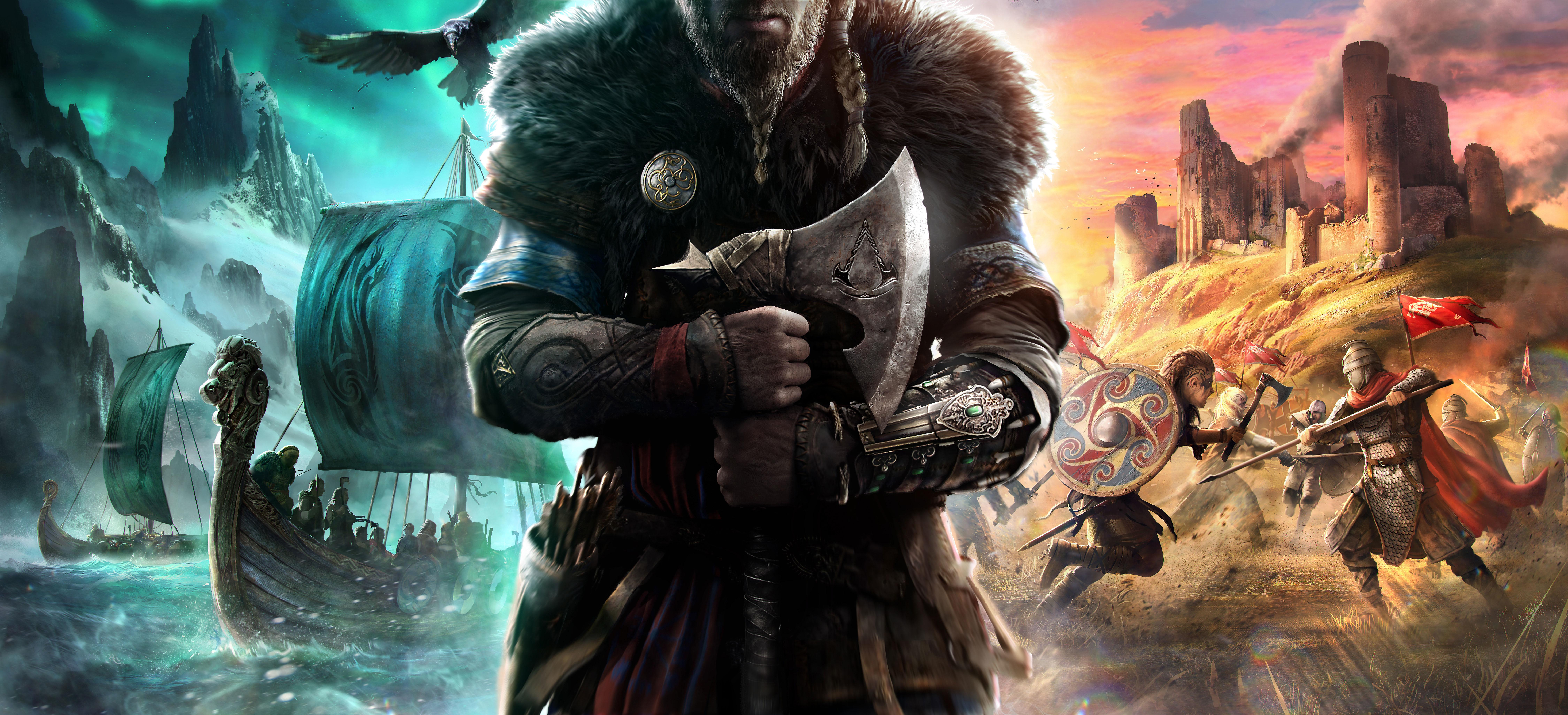 Assassins Creed Valhalla 8k Wallpaper Hd Games 4k Wallpapers