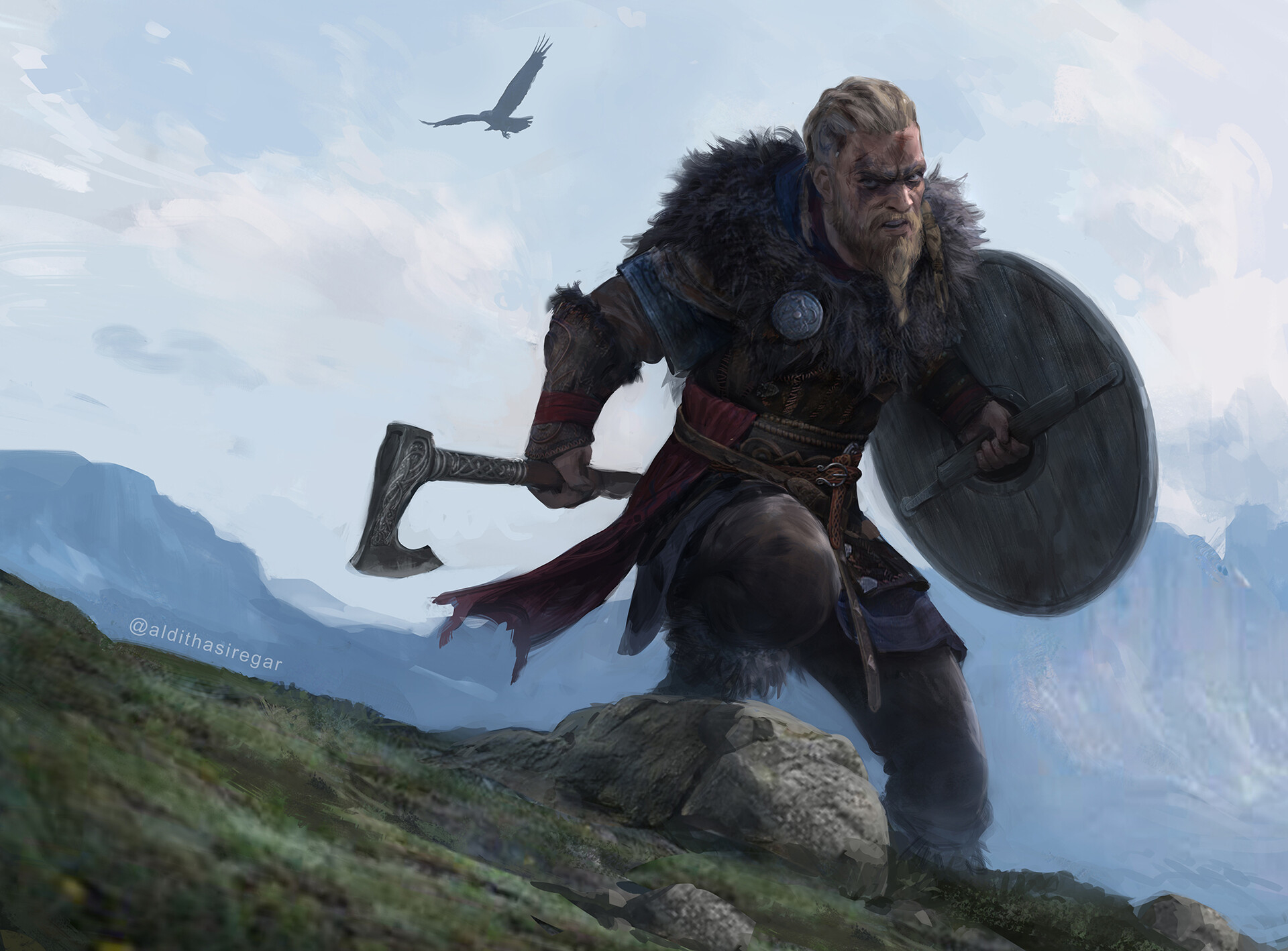 Assassins Creed Valhalla Artstation Wallpaper Hd Games 4k