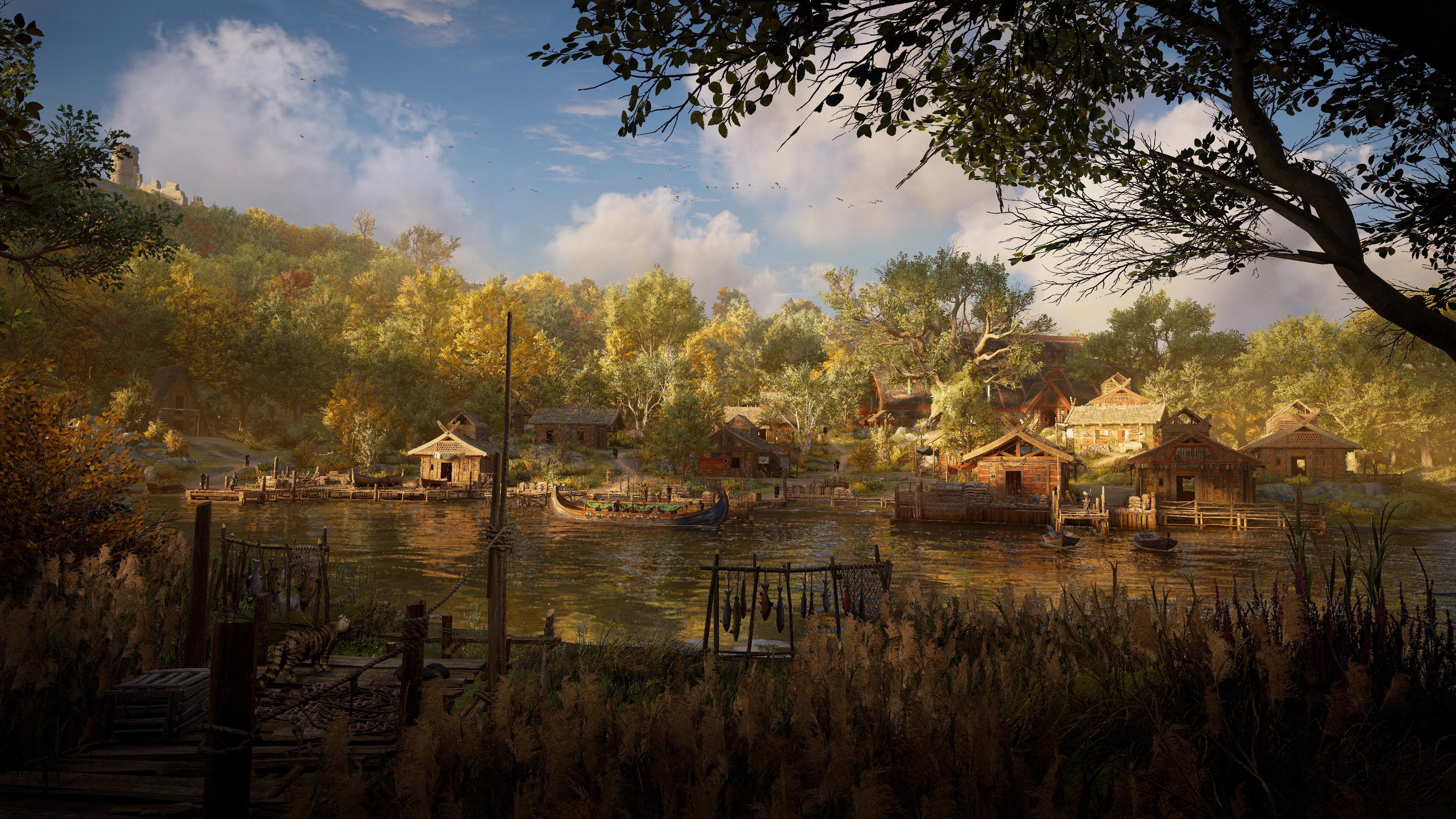 Assassins Creed Valhalla Background Wallpaper Hd Games 4k