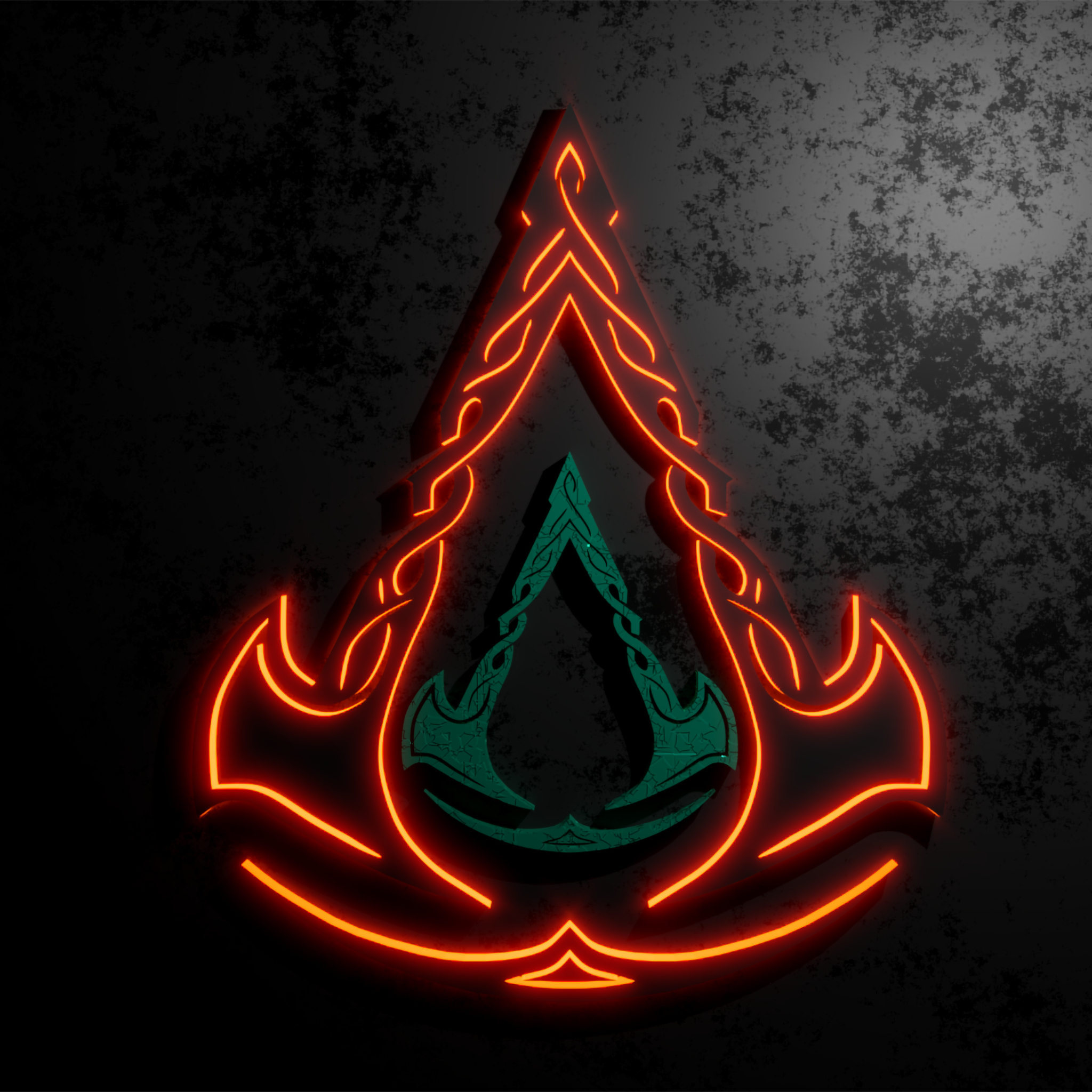 2048x2048 Assassins Creed Valhalla Cool Logo Ipad Air ...