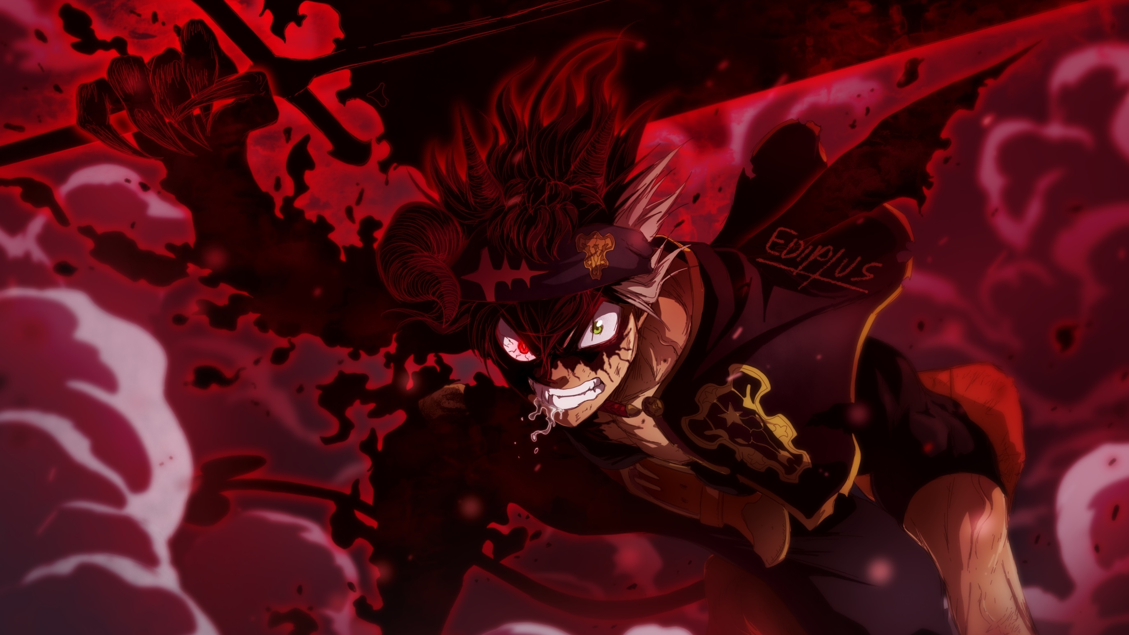 3840x2160 Asta in Black Clover 4K Wallpaper, HD Anime 4K ...
