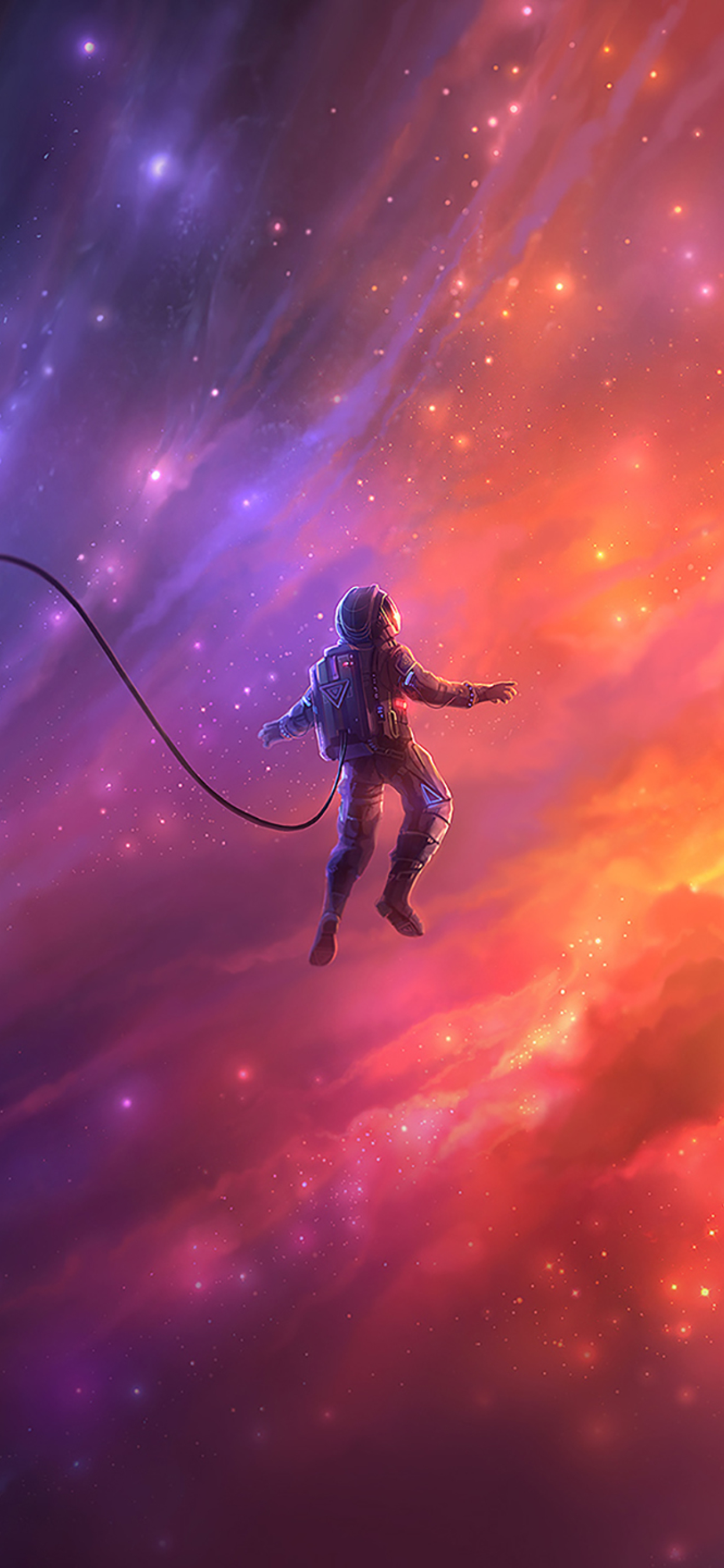 1242x2688 Astronaut In Space Iphone XS MAX Wallpaper, HD ...