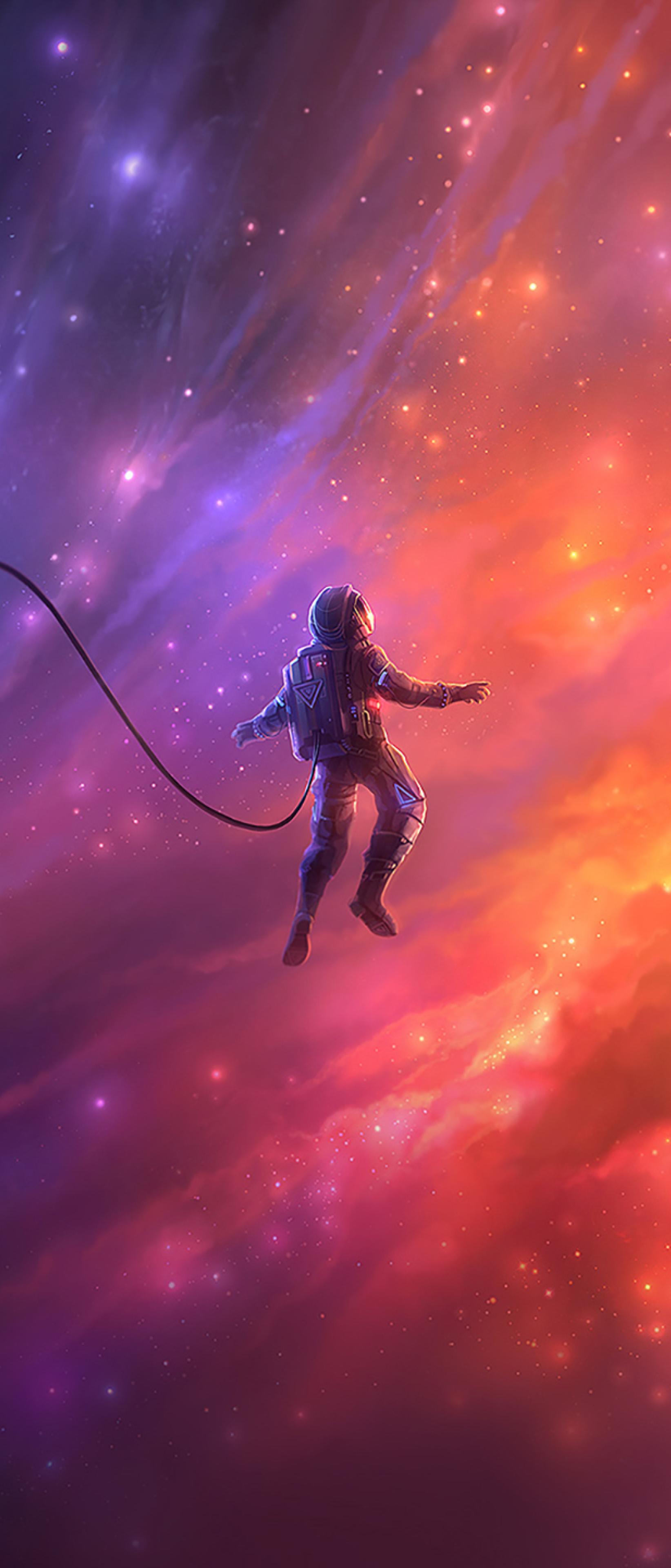 astronaut in