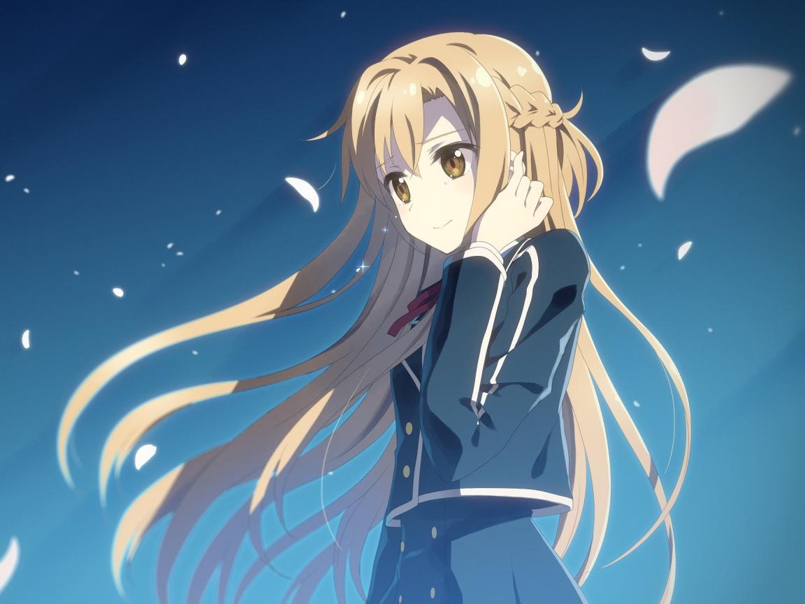 1152x864 Asuna Yuuki Sword Art Online Sword Art Online Ii