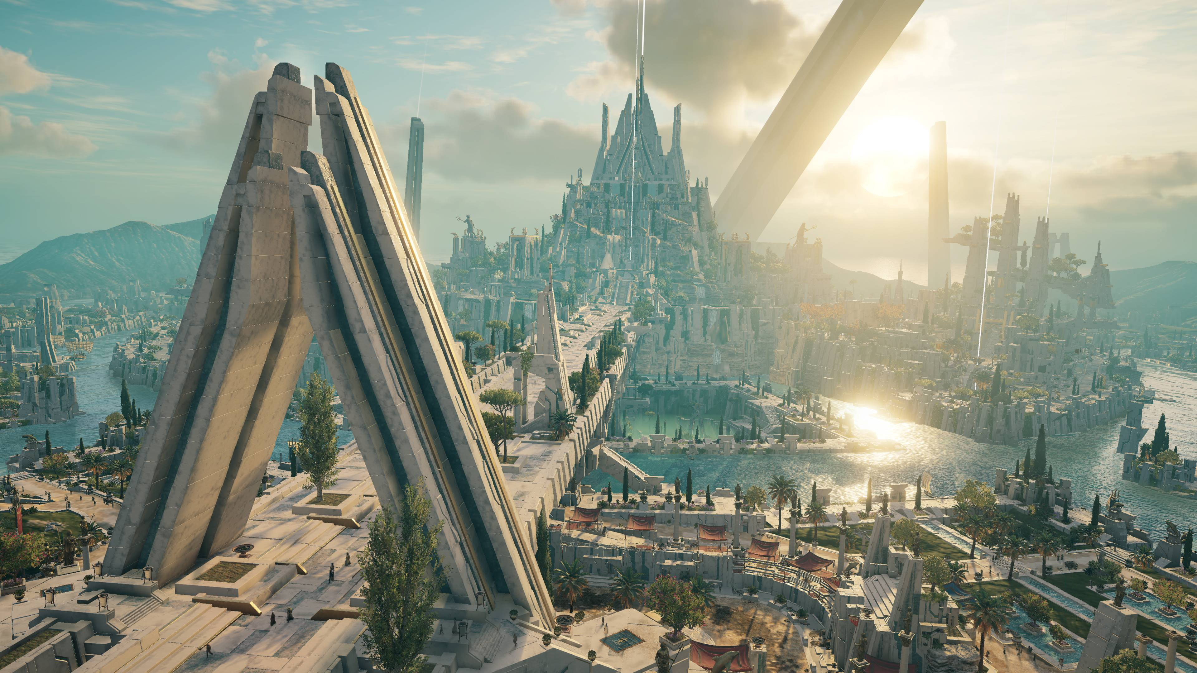 Atlantis In Assassins Creed Odyssey Wallpaper Hd Games 4k