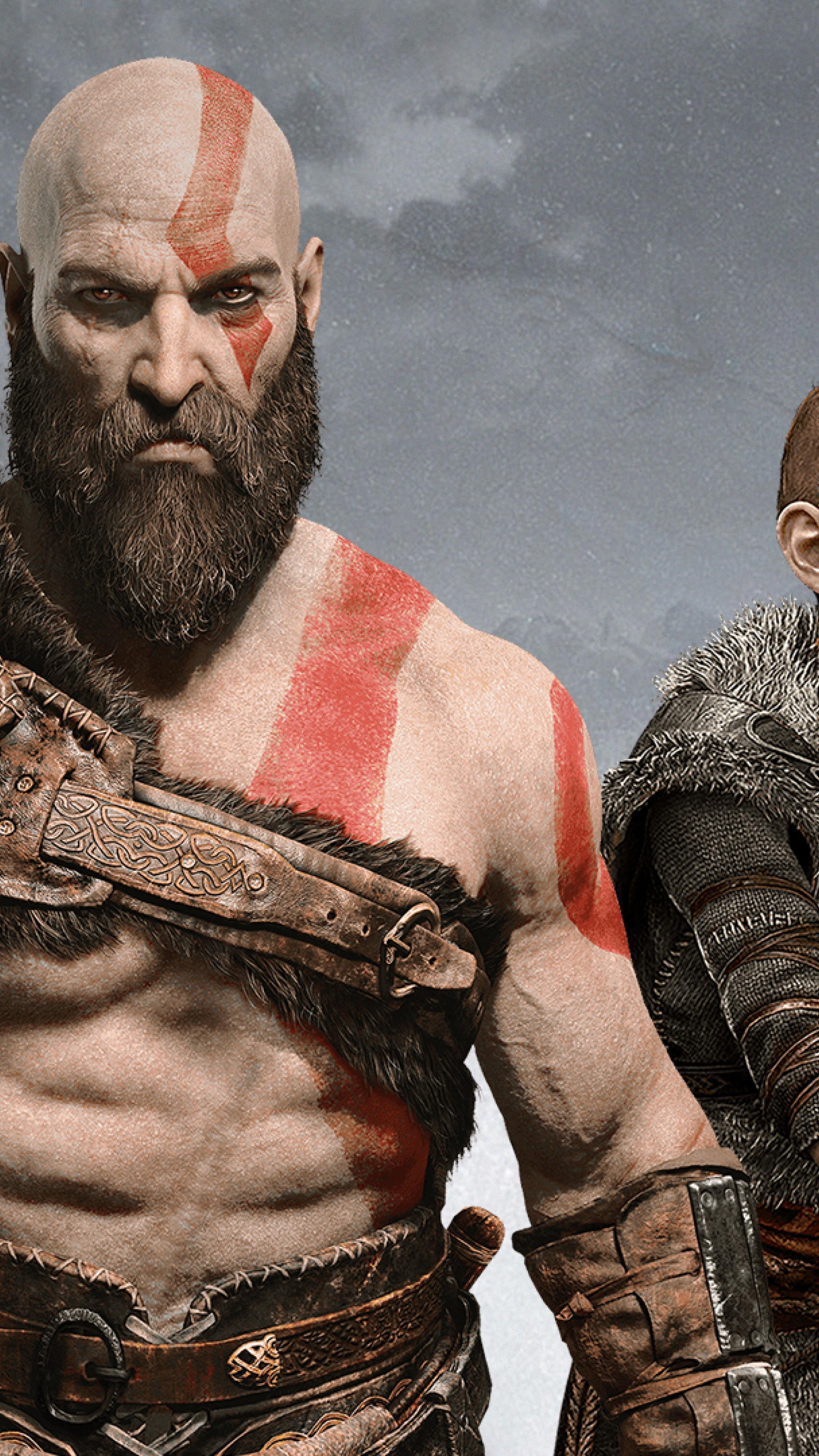 2160x3840 Atreus Kratos God Of War 2018 Sony Xperia X Xz Z5
