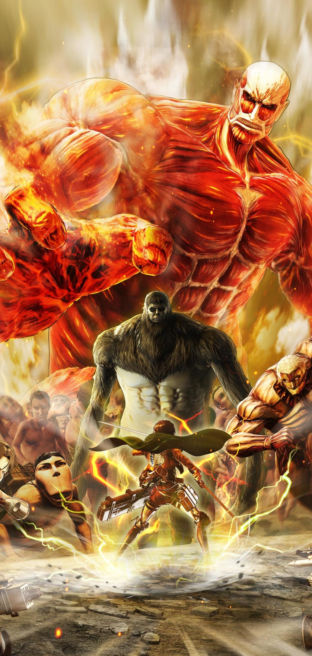 1080x2270 Attack on Titan Final Battle 1080x2270 Resolution Wallpaper, HD Games 4K Wallpapers ...