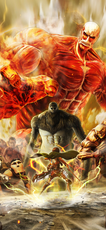 1080x2340 Attack on Titan Final Battle 1080x2340 ...