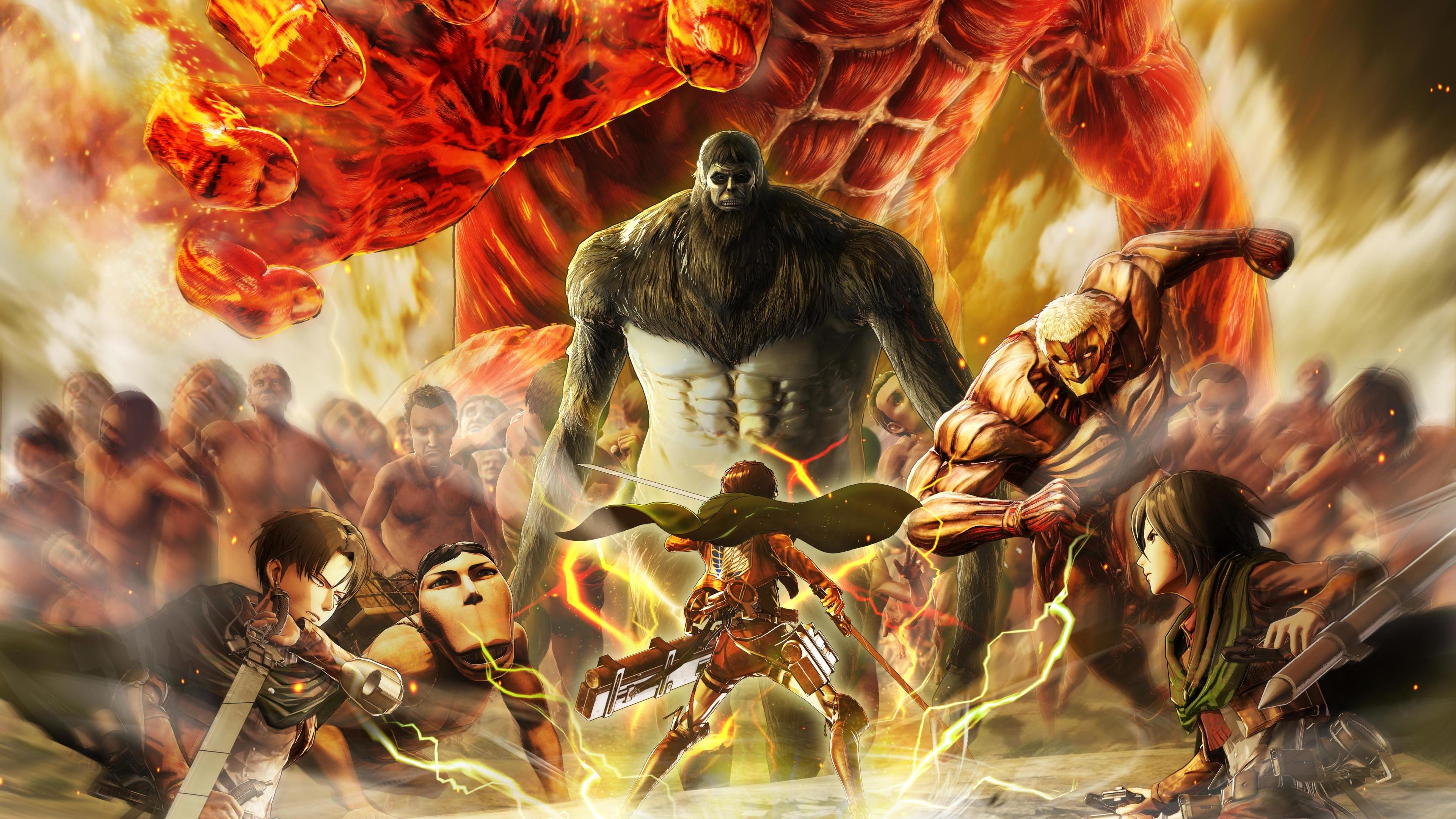 3840x2160 Attack on Titan Final Battle 4K Wallpaper, HD ...