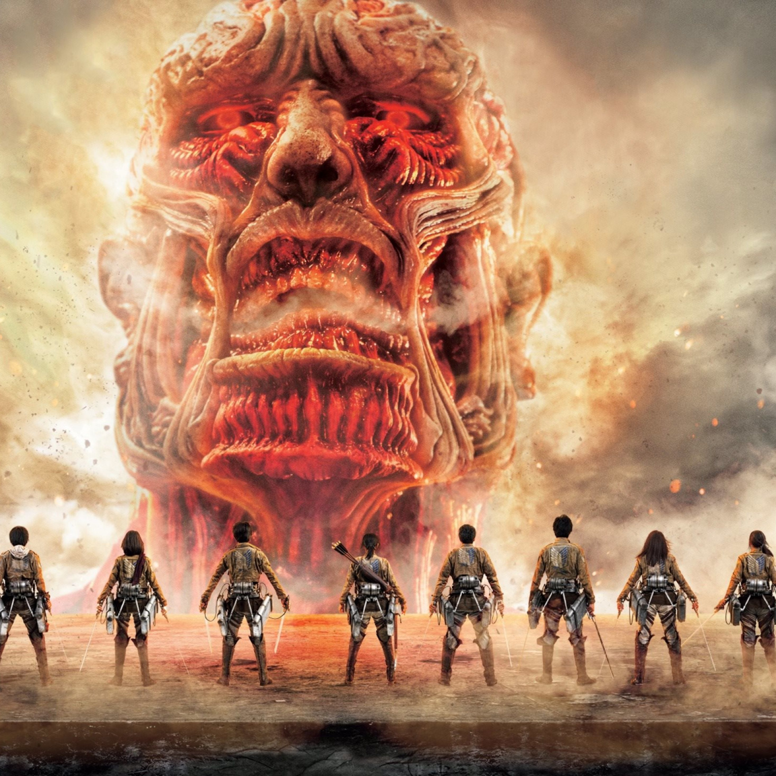 Download Attack On Titan Japanese Tv Series Poster