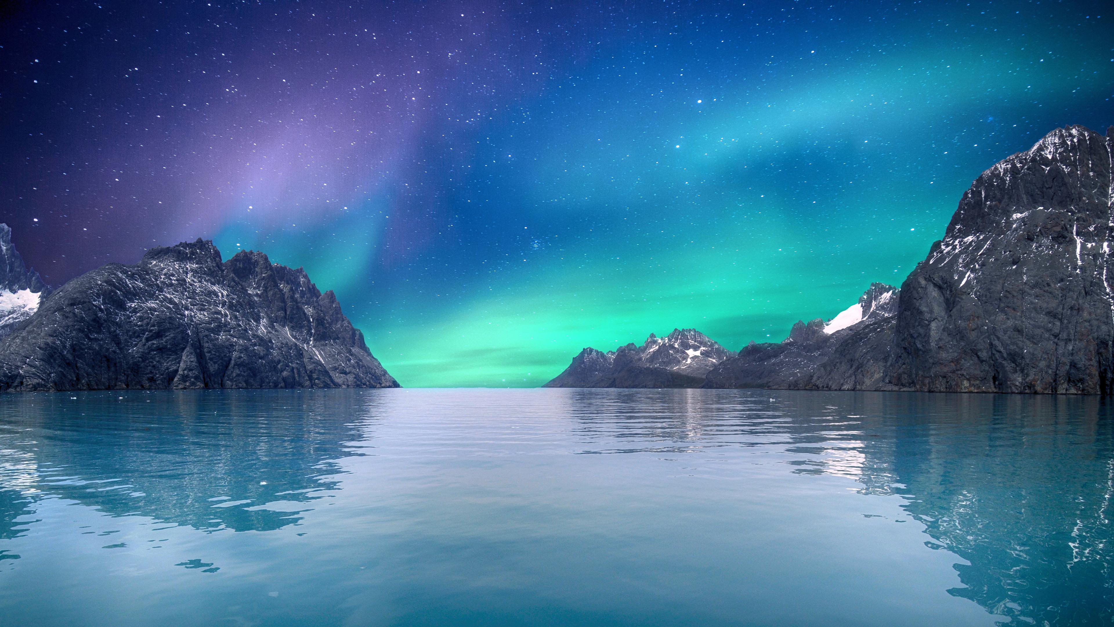 Aurora 4K Borealis Wallpaper, HD Nature 4K Wallpapers ...