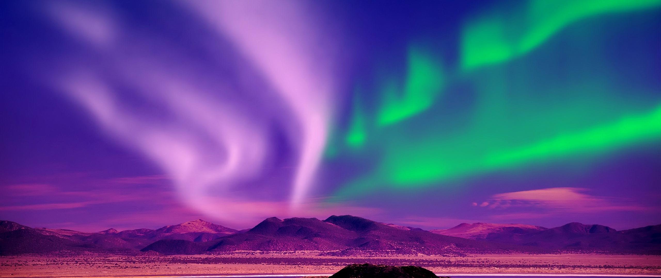 Aurora Borealis Canada  Full Hd 2k Wallpaper