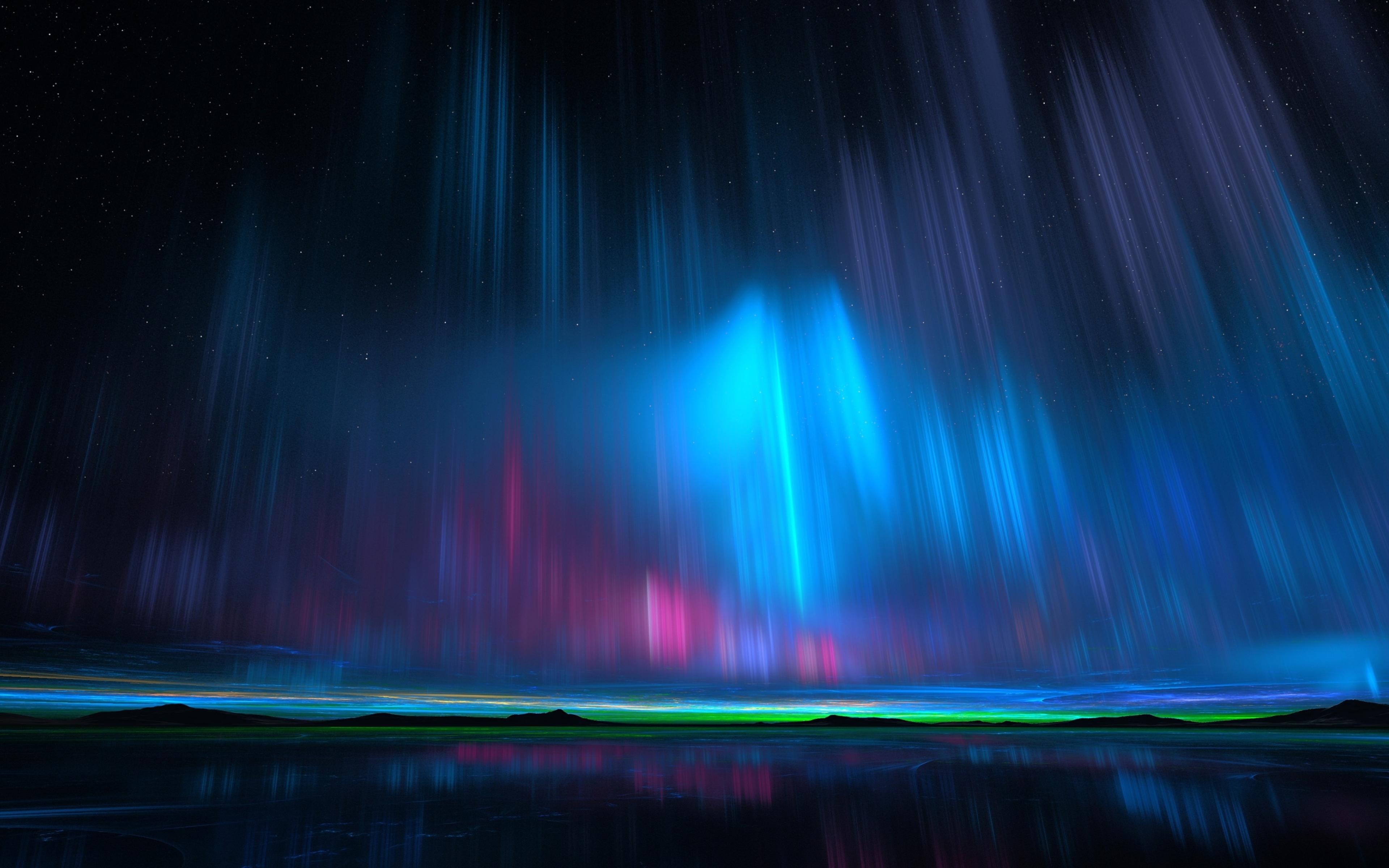 aurora borealis hd 4k wallpaper