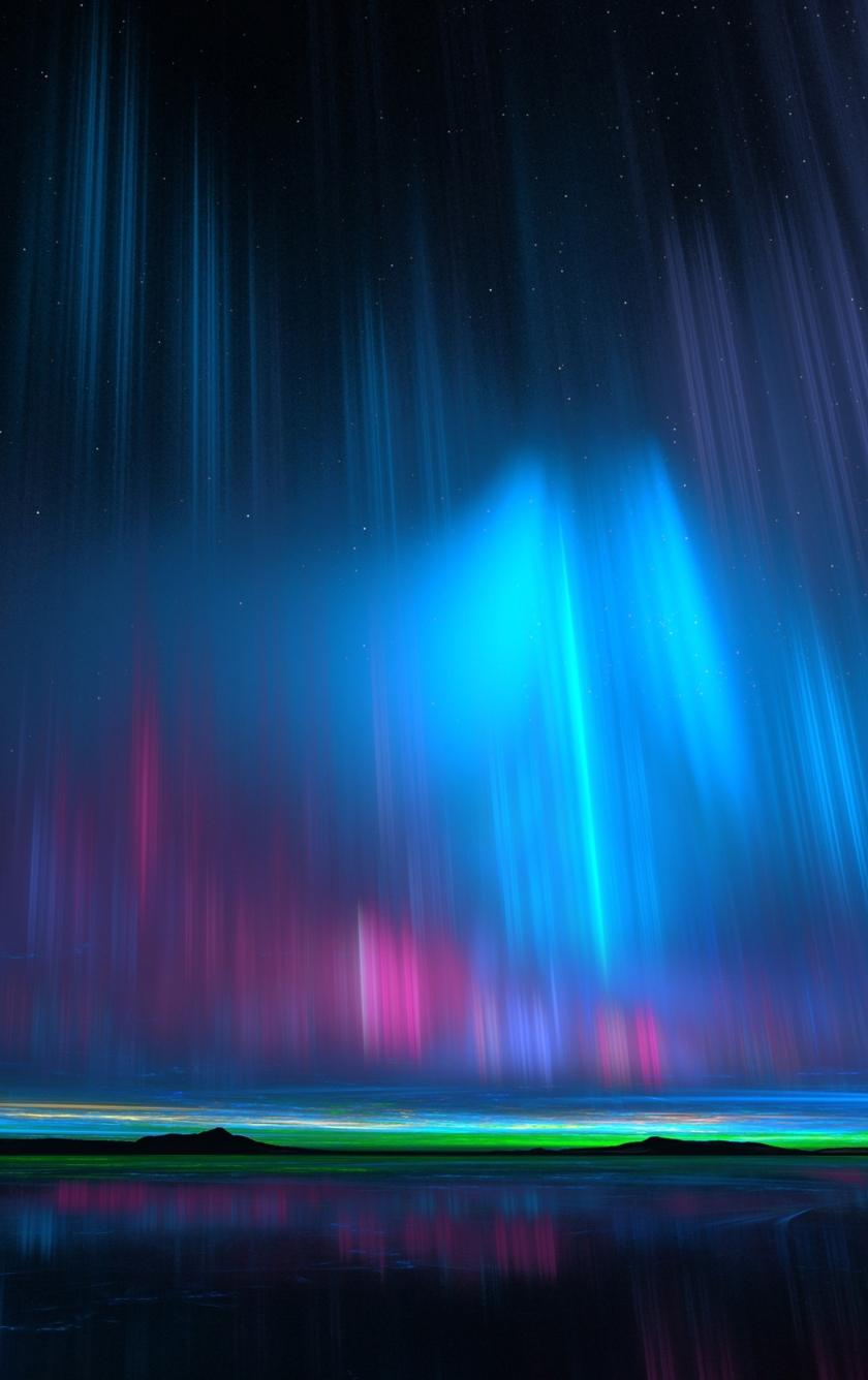 download aurora borealis 540x960 resolution, hd 4k wallpaper