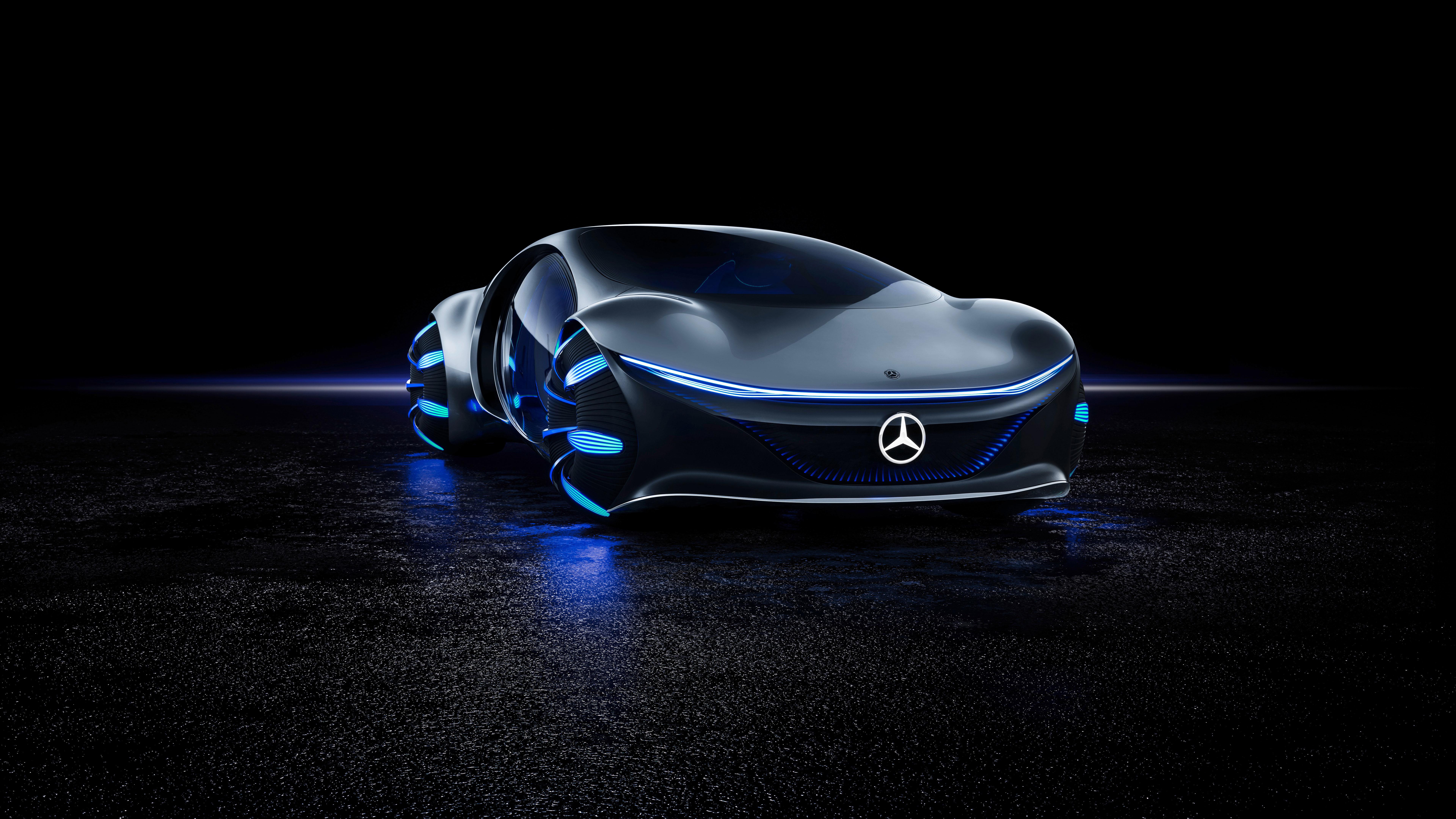 Mercedes Benz Vision 8K Wallpaper