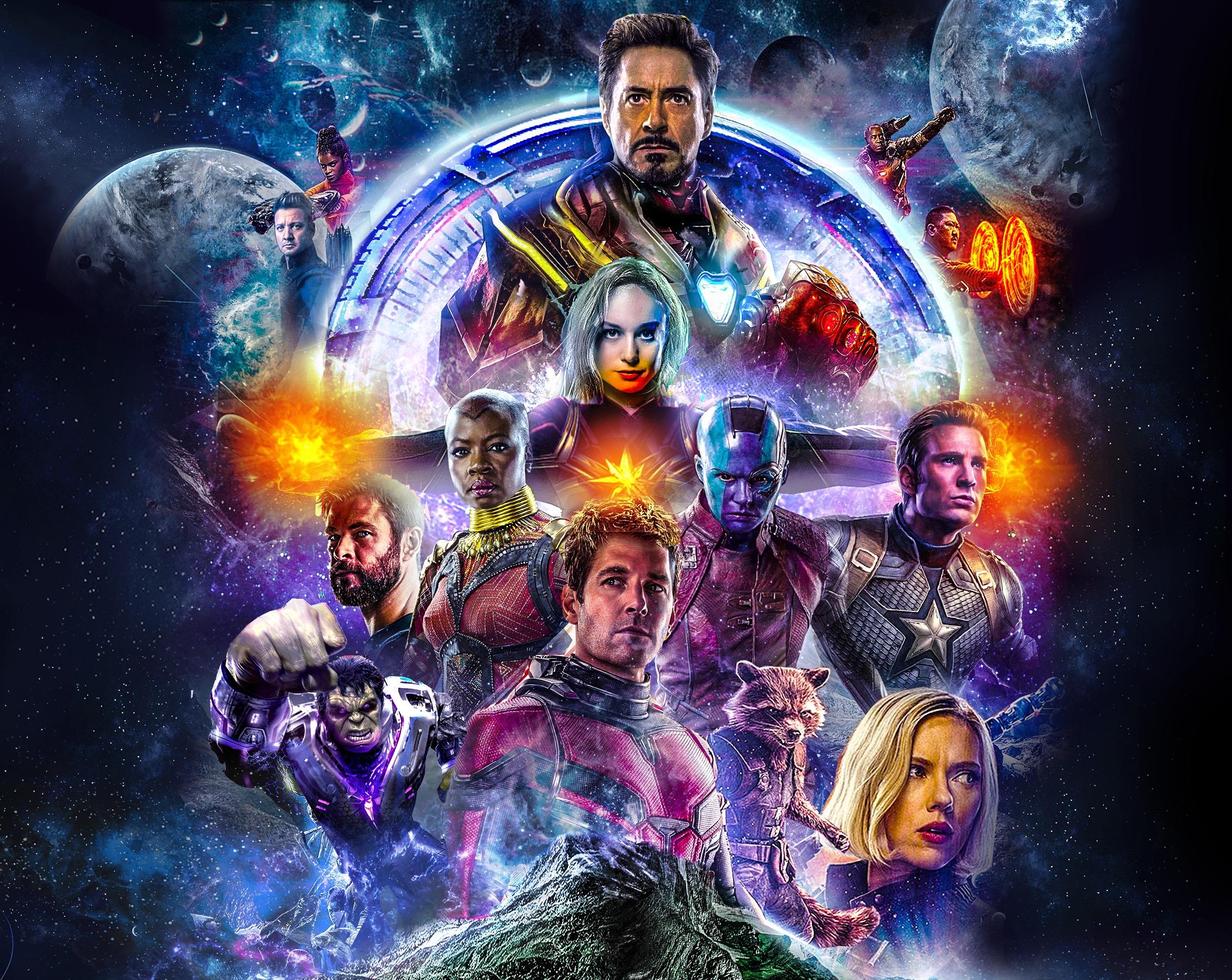 Wallpaper Avengers Endgame Avengers 4 Hd Movies 16872: Avengers 4 All Actor Artwork Poster, Full HD 2K Wallpaper
