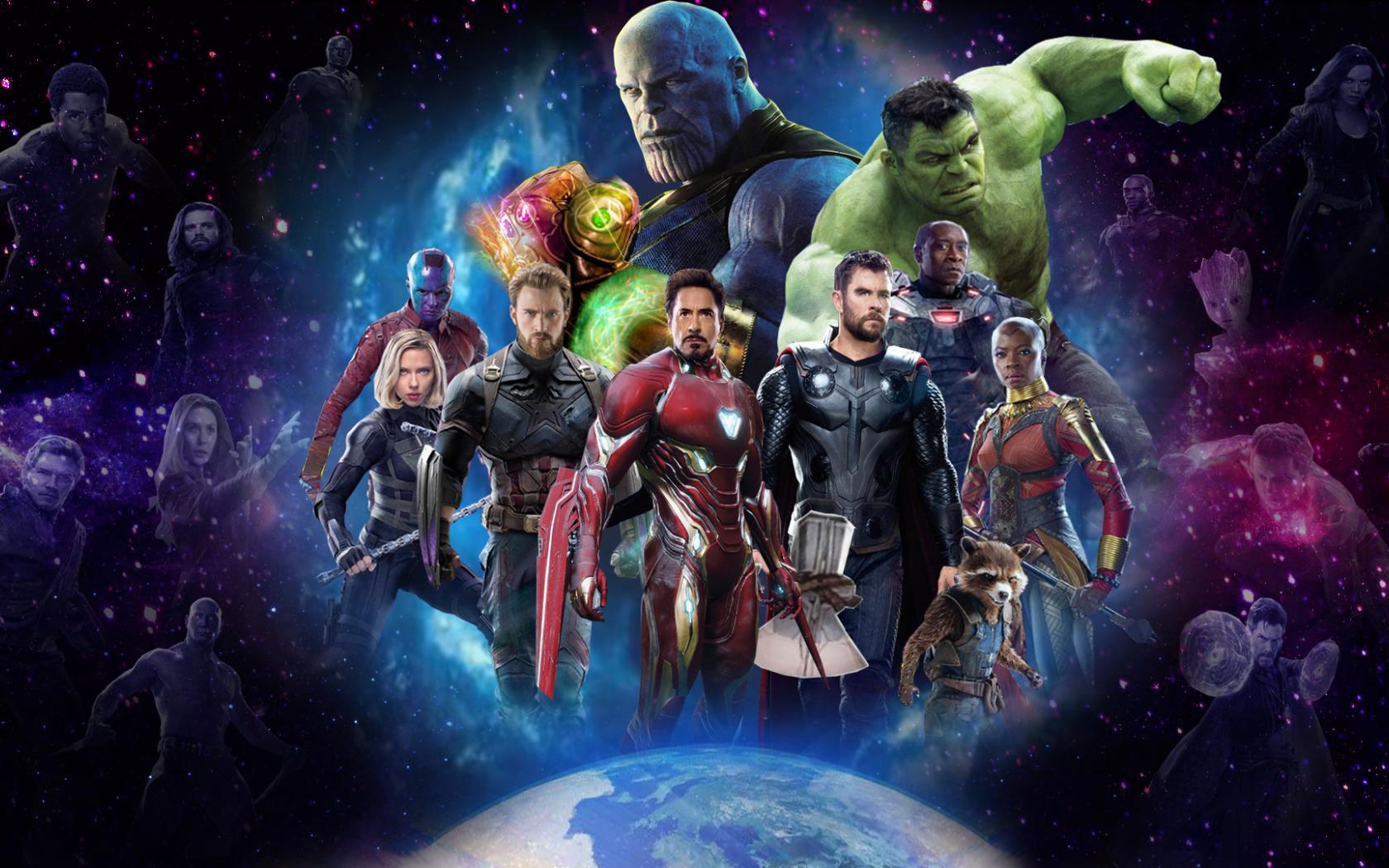 10 New Avengers Infinity War Desktop Wallpaper Full Hd: Download Avengers 4 Artwork From Infinity War 1080x1920