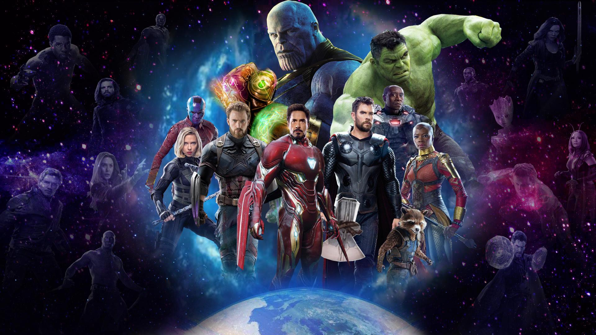 Download Galaxy Note 5 Galaxy S6 Edge Full Hd Stock: Avengers 4 Artwork From Infinity War, Full HD Wallpaper