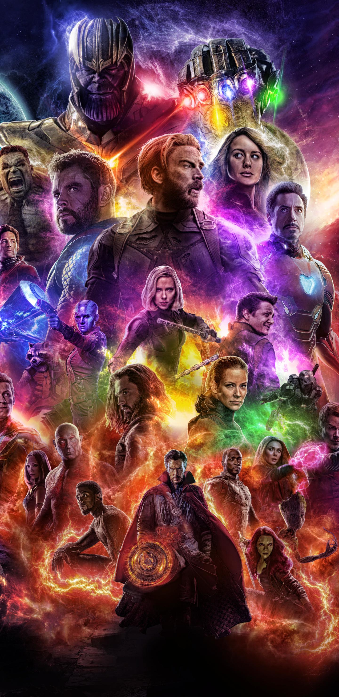 1440x2960 Avengers 4 Endgame 2019 Movie Keyart Samsung ...