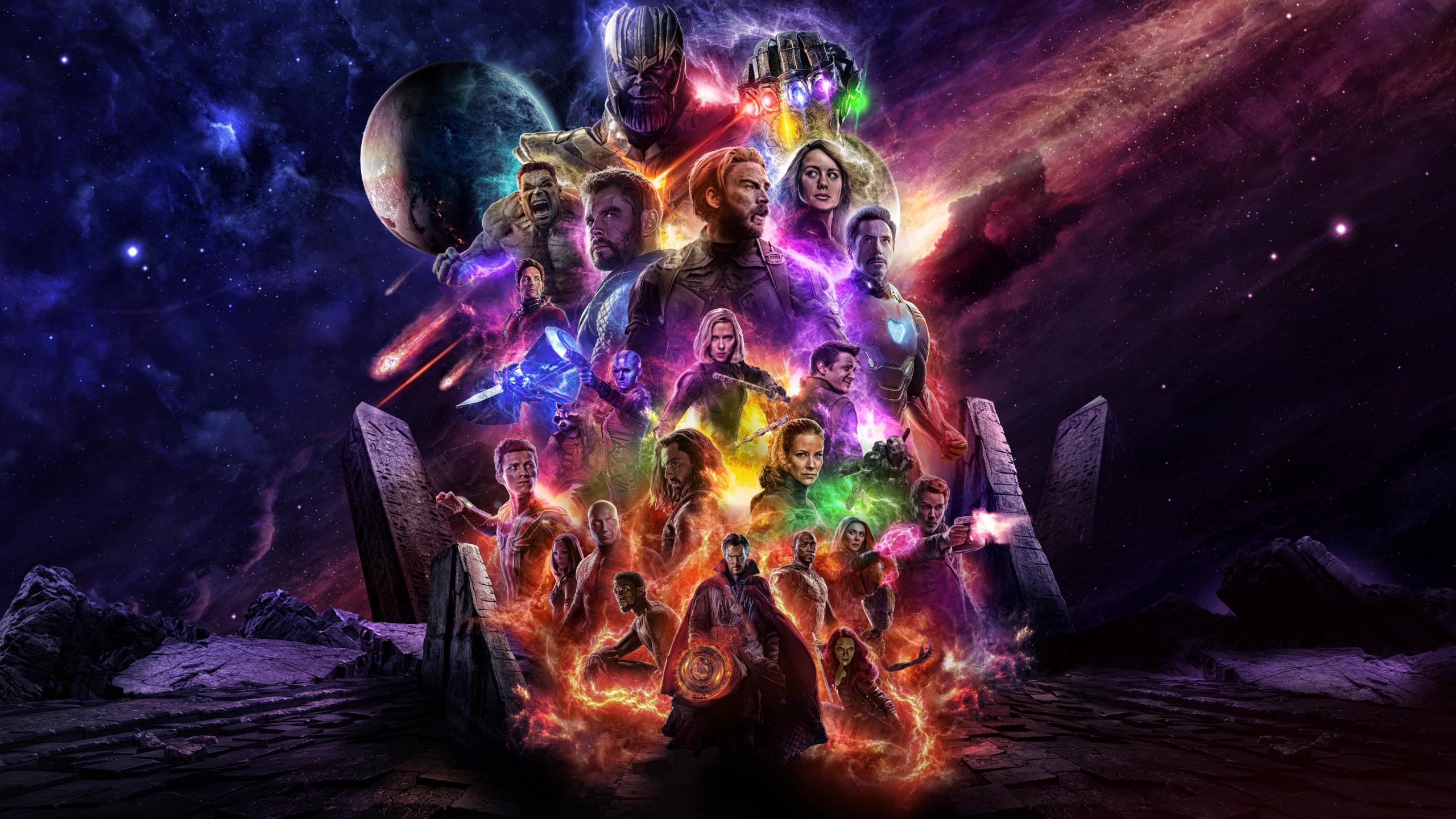 Wallpaper Avengers Endgame Avengers 4 Hd Movies 16872: Avengers 4 Endgame 2019 Movie Keyart, HD 4K Wallpaper
