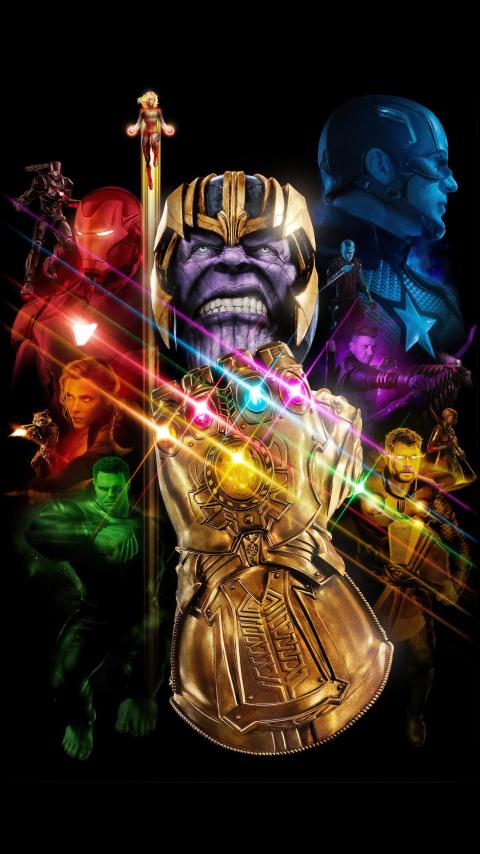480x854 Avengers Endgame 2019 Android One Mobile Wallpaper ...