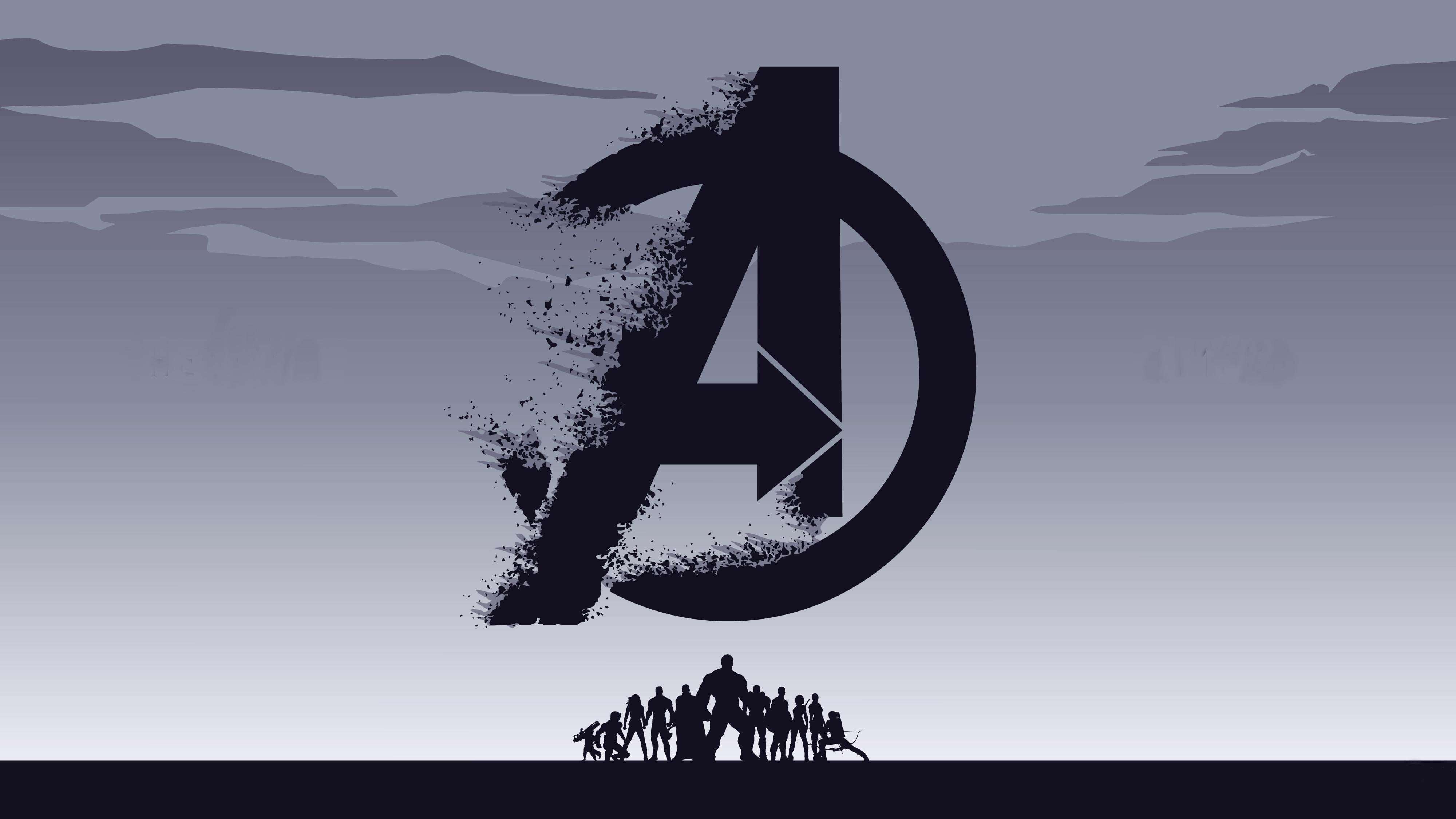 Avengers Endgame 4K Background Wallpaper, HD Artist 4K ...