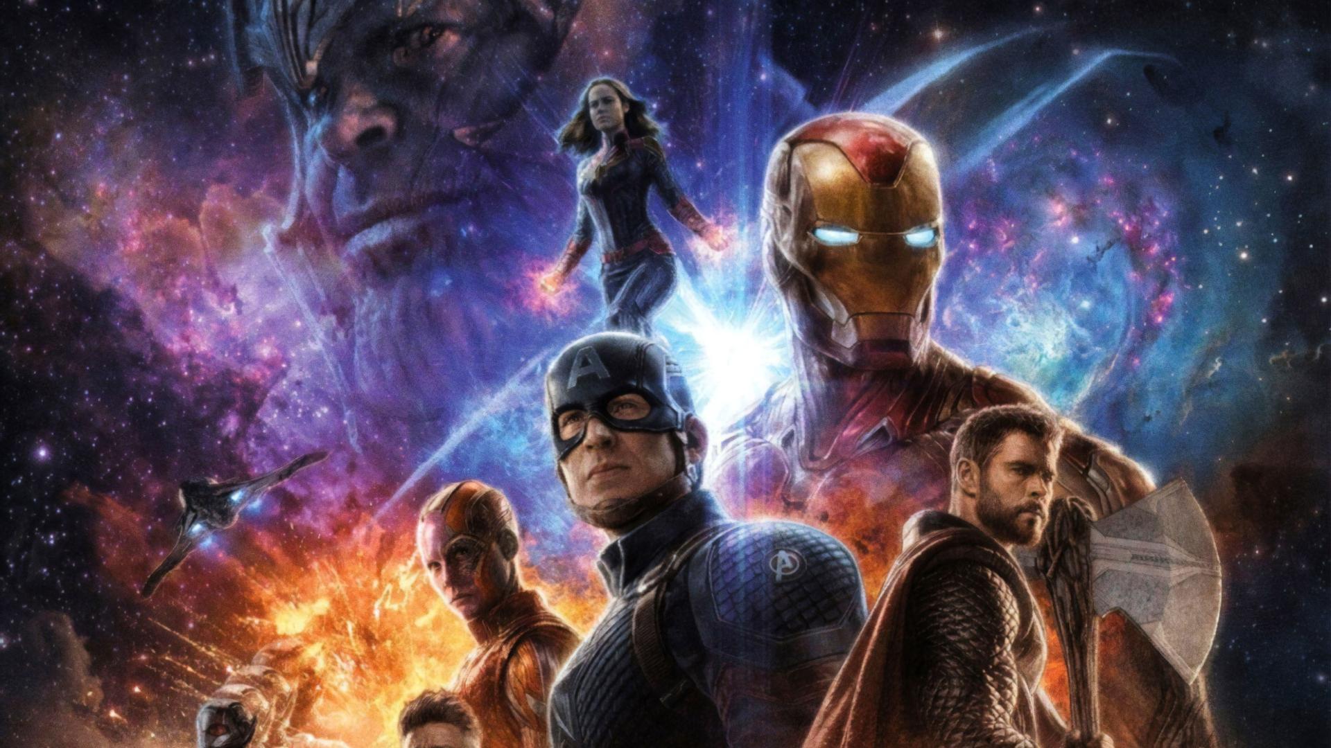 1920x1080 Avengers Endgame 4K Poster 1080P Laptop Full HD ...