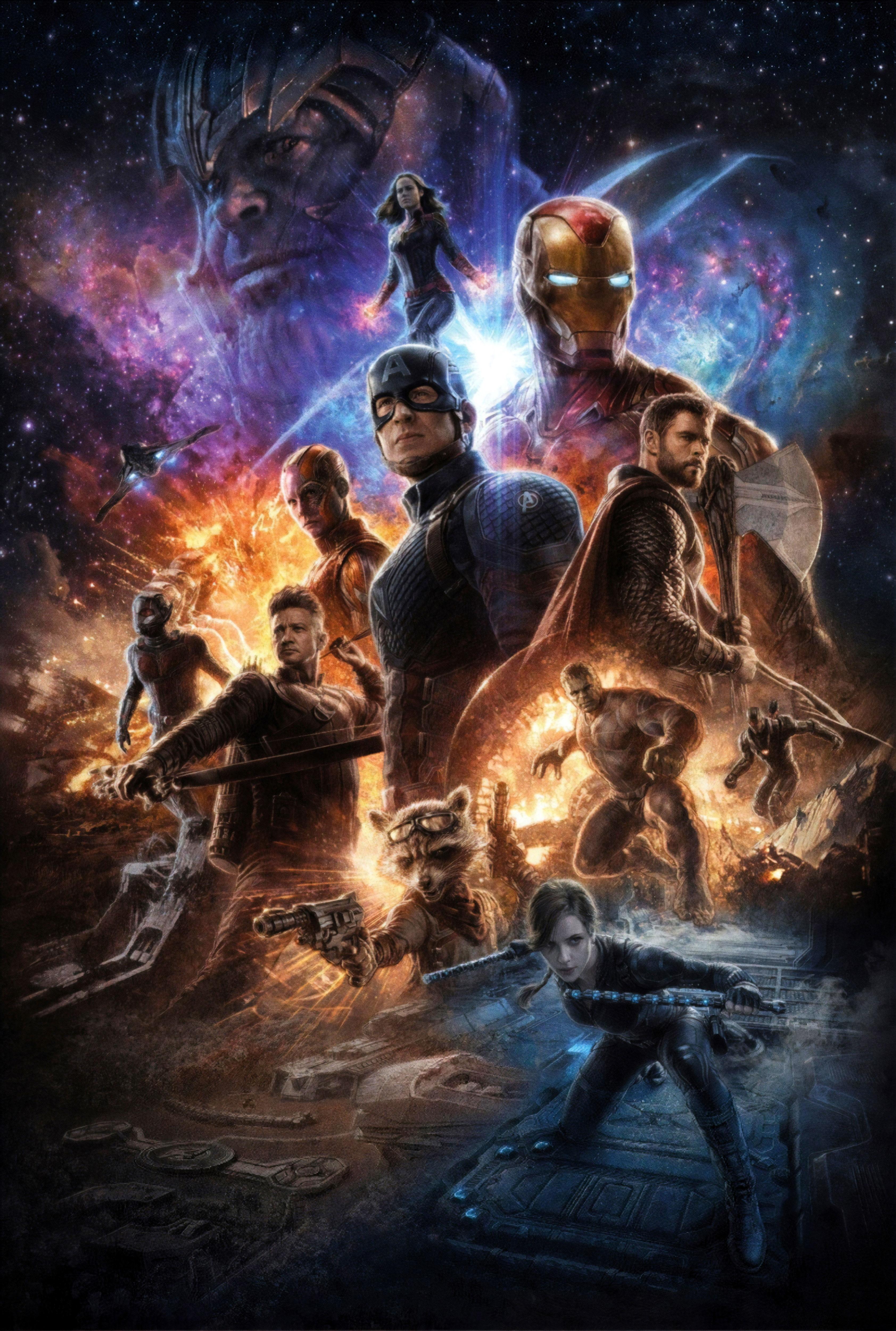 Avengers Endgame 4K Poster Wallpaper, HD Movies 4K ...