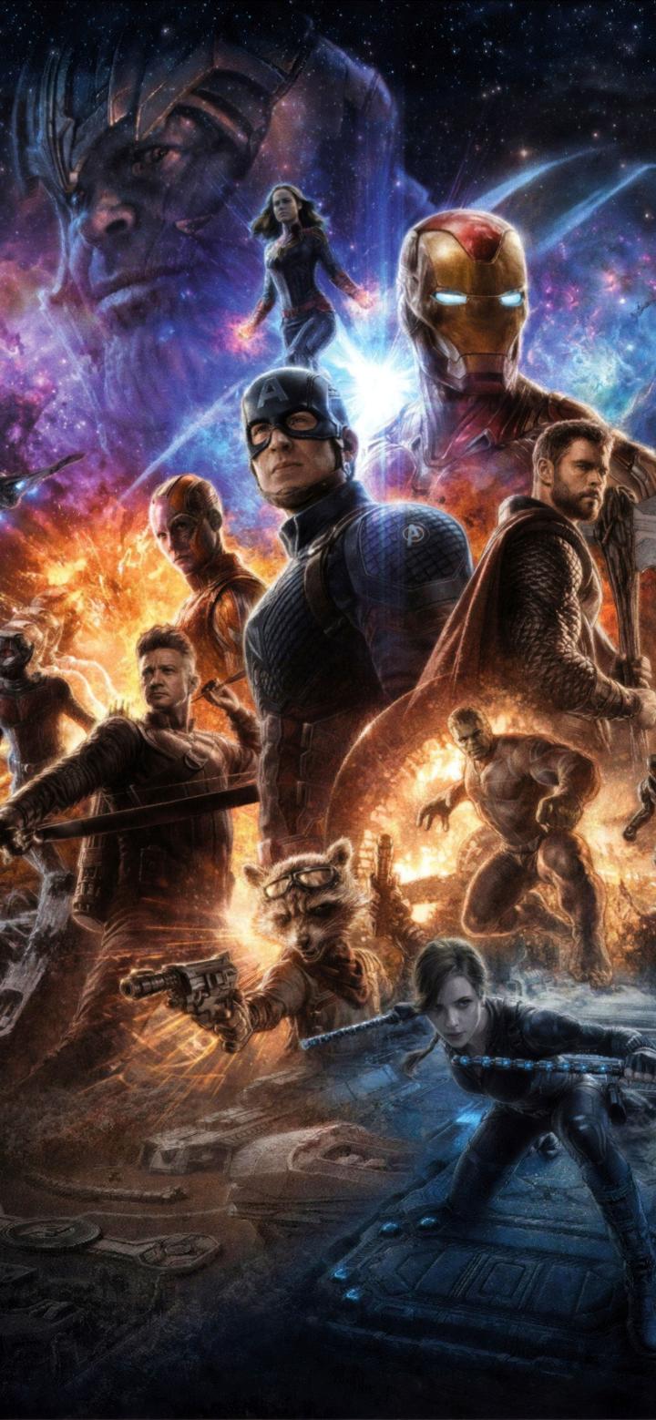 720x1560 Avengers Endgame 4K Poster 720x1560 Resolution ...