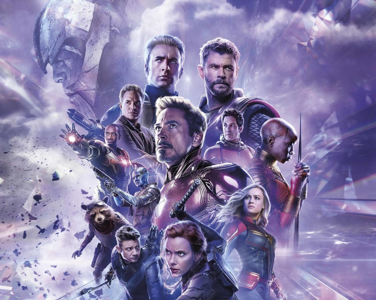 1280x1024 Avengers Endgame 8K Russian Poster 1280x1024 ...