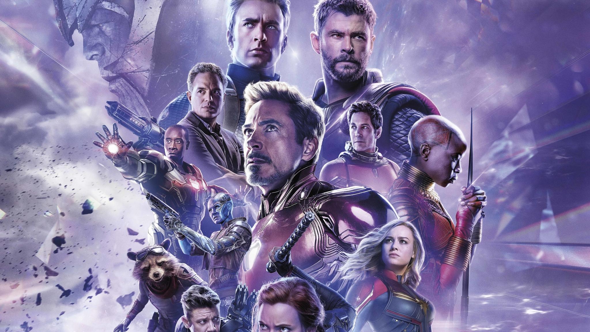 2048x1152 Avengers Endgame 8K Russian Poster 2048x1152 ...
