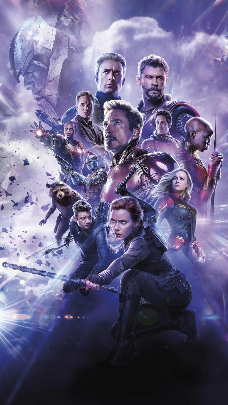 750x1334 Avengers Endgame 8K Russian Poster iPhone 6 ...