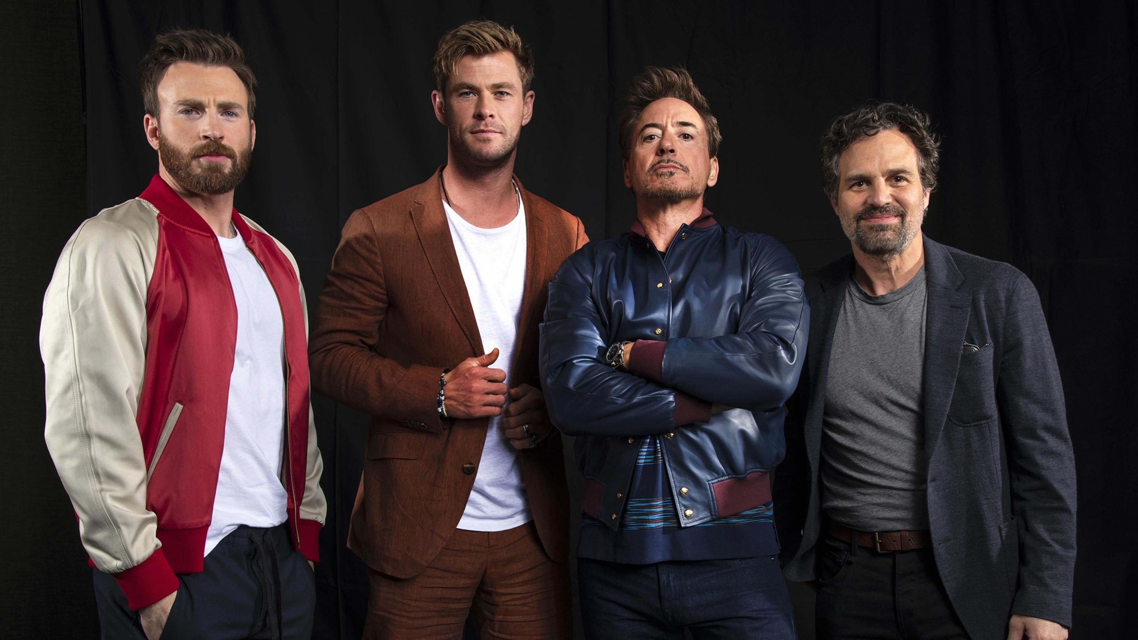 Avengers Endgame Cast Wallpaper in 3840x2160 Resolution