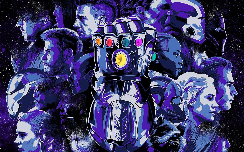 2880x1800 Avengers Endgame Cover Art Macbook Pro Retina